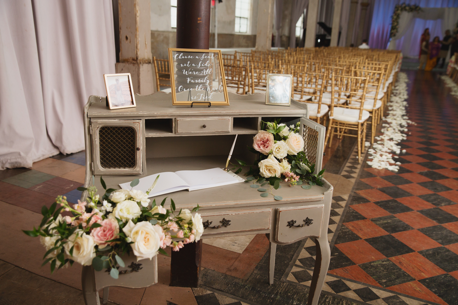 Southern Fete, Southern Wedding, Wedding Ceremony, The Marigny Opera House, E Ray Photo, Root Floral Design