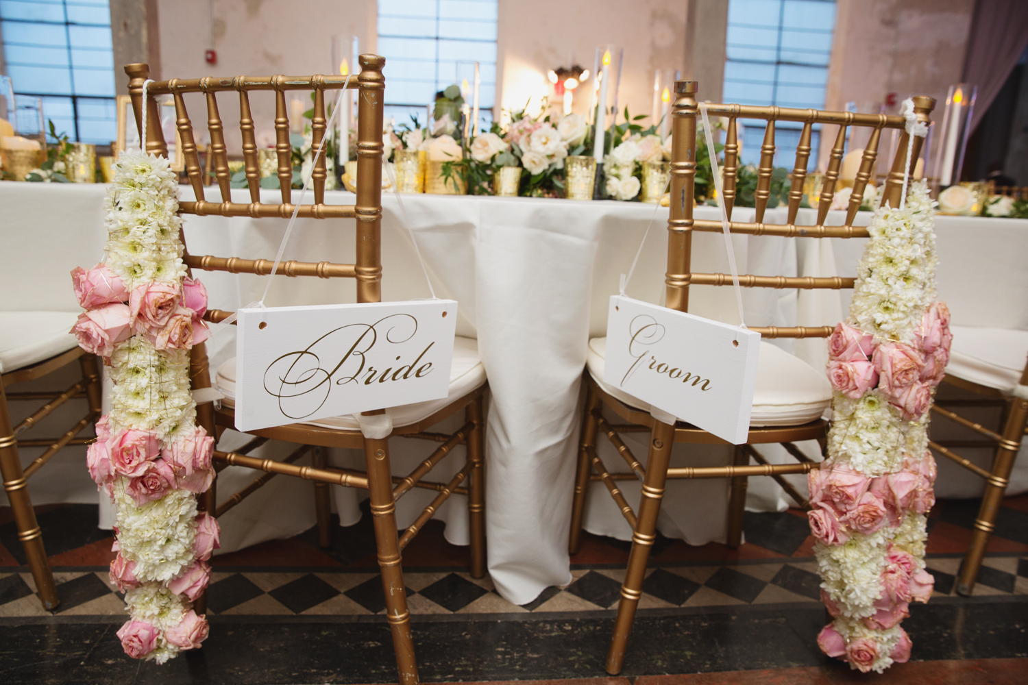 Southern Fete, Southern Wedding, Root Floral Design, Bride and Groom Table, E Ray Photo