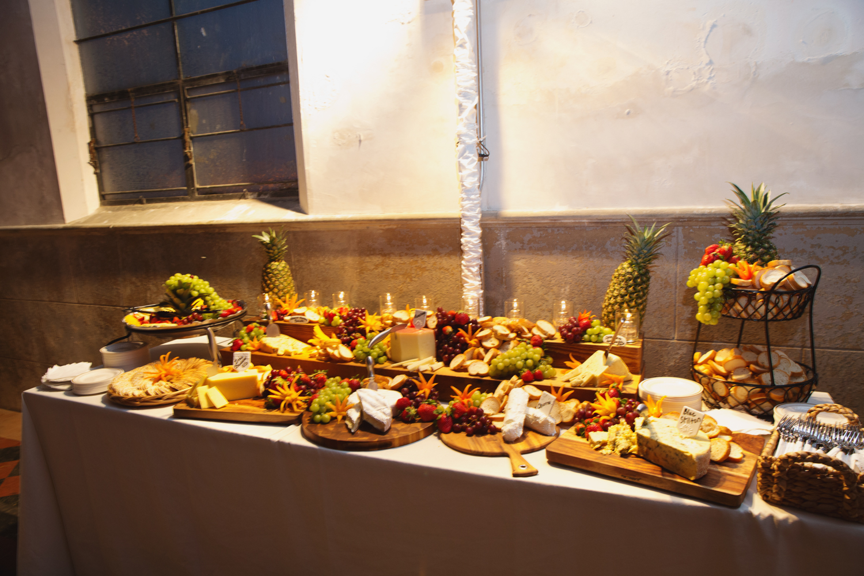 Southern Fete, Southern Wedding, Food Table, Saffron NOLA, E Ray Photo