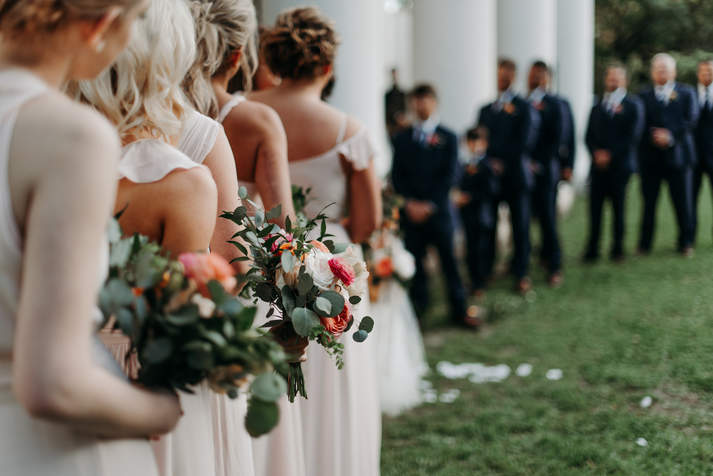 Southern Fete, Southern Wedding, Root Floral Design, Ceremony, Hannah Mulligan Photography