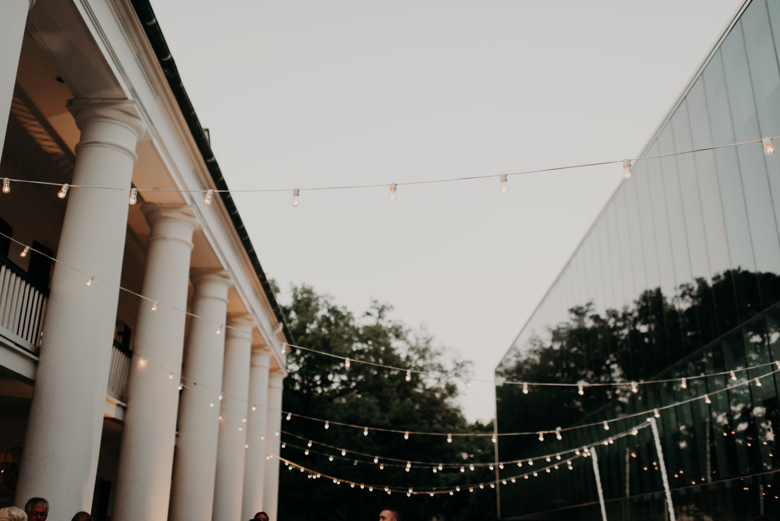 Southern Fete, Southern Wedding, Outside Lights, Hannah Mulligan Photography