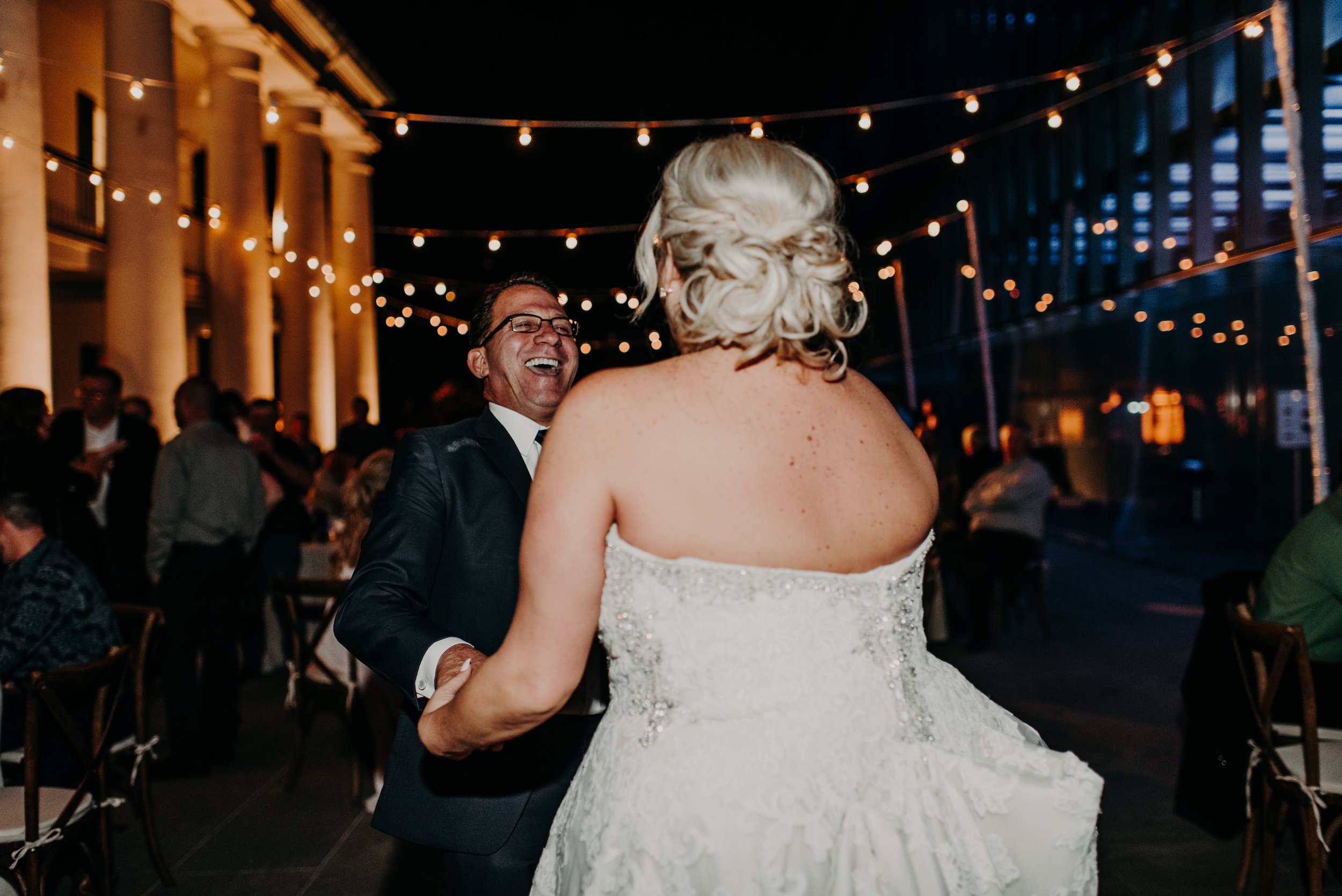 Southern Fete, Southern Wedding, Paul and Lulu Hilliard Art Museum, Reception, Hannah Mulligan Photography