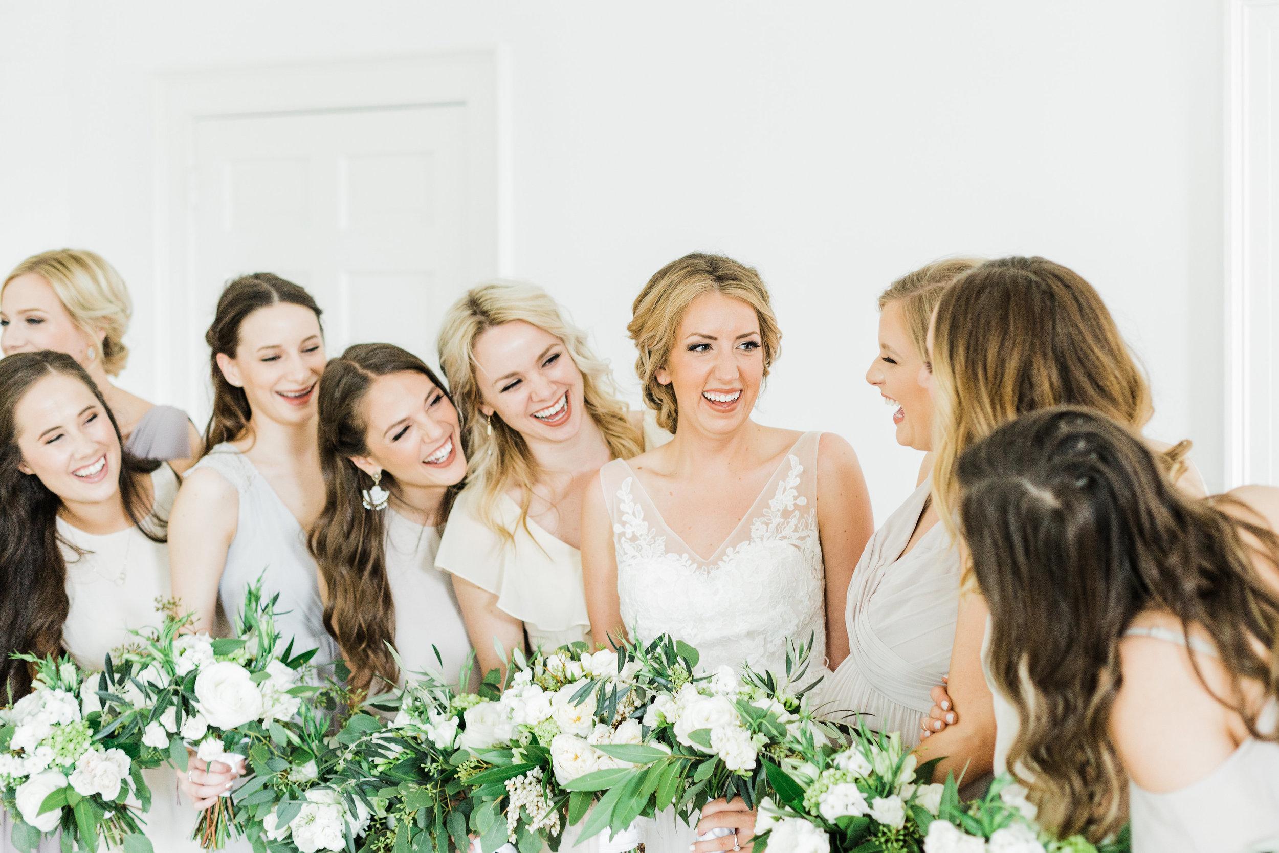 Southern Fete, Southern Wedding, Bride and Bridesmaid, Carolynn Seibert Photography