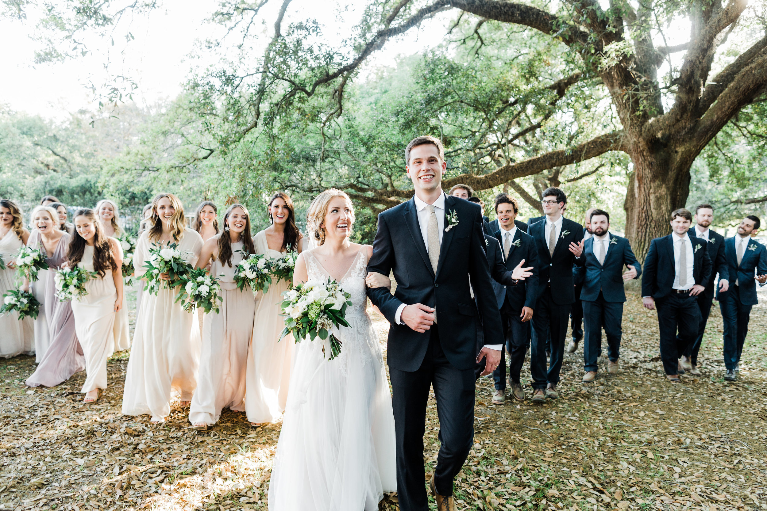 Southern Fete, Southern Wedding, Bridal Party, Bride and Groom, Carolynn Seibert Photography