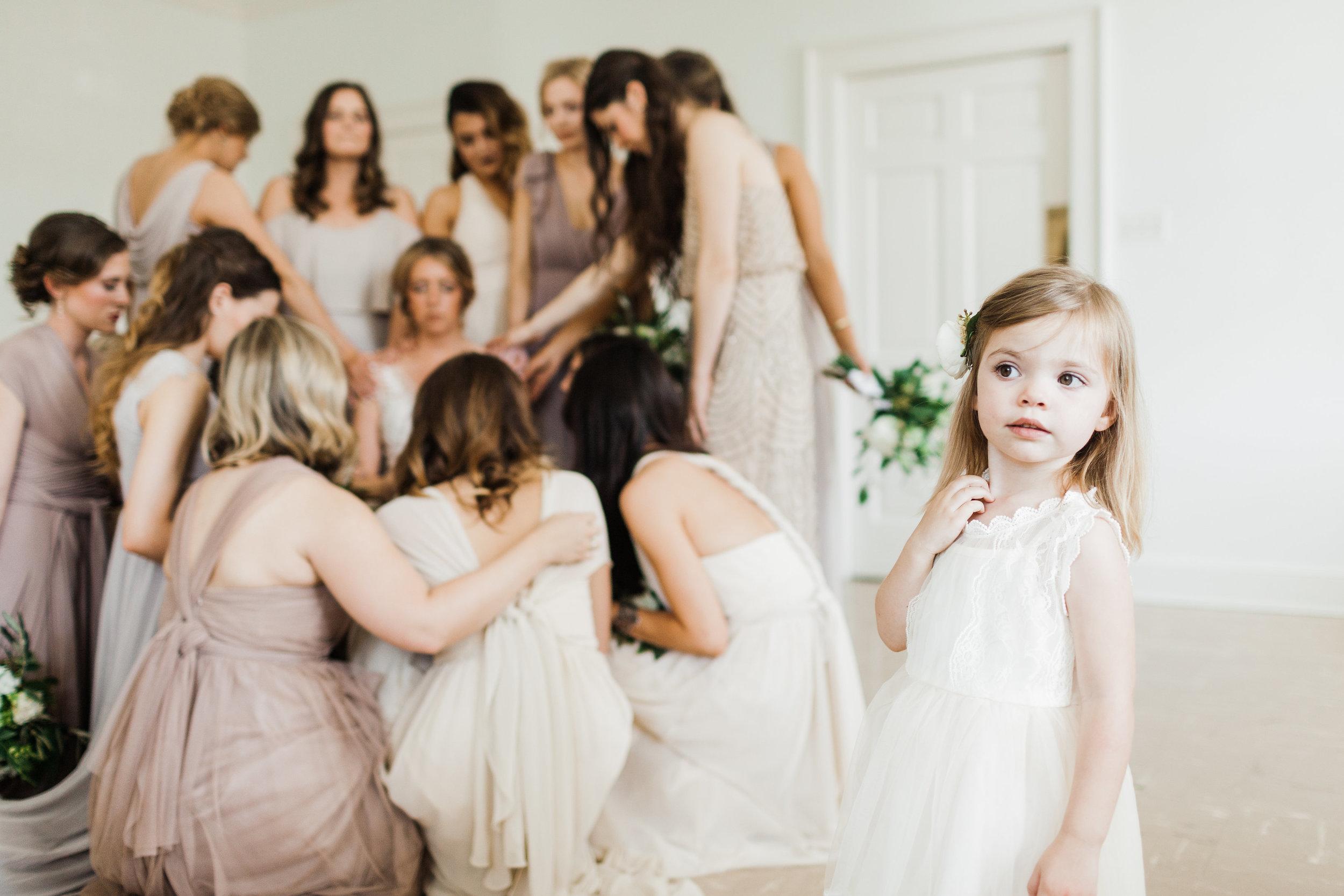 Southern Fete, Southern Wedding, Flower girl, Bridal Party, Carolynn Seibert Photography