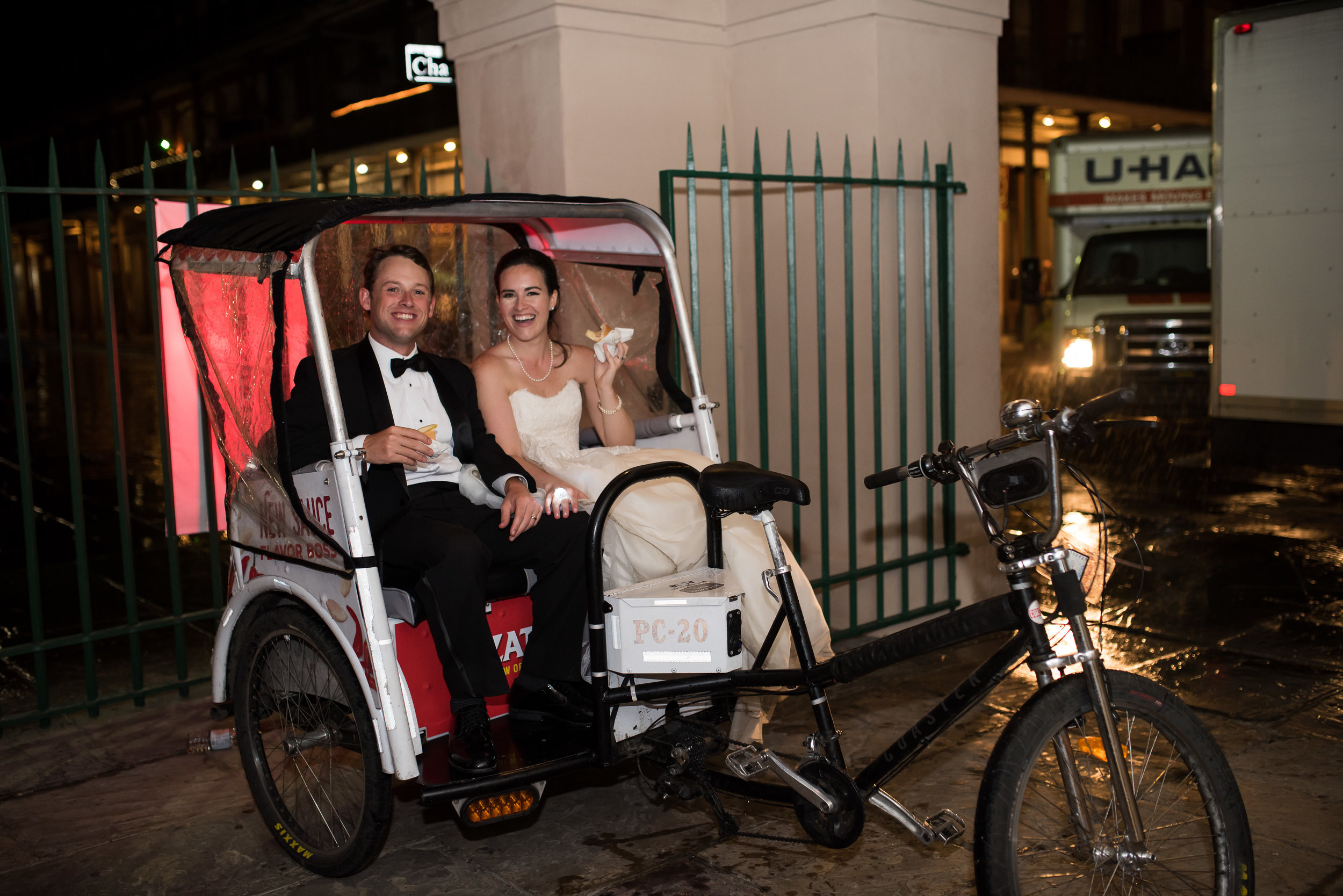 Southern Fete, Southern Wedding, Bride and Groom, Bicycle Ride