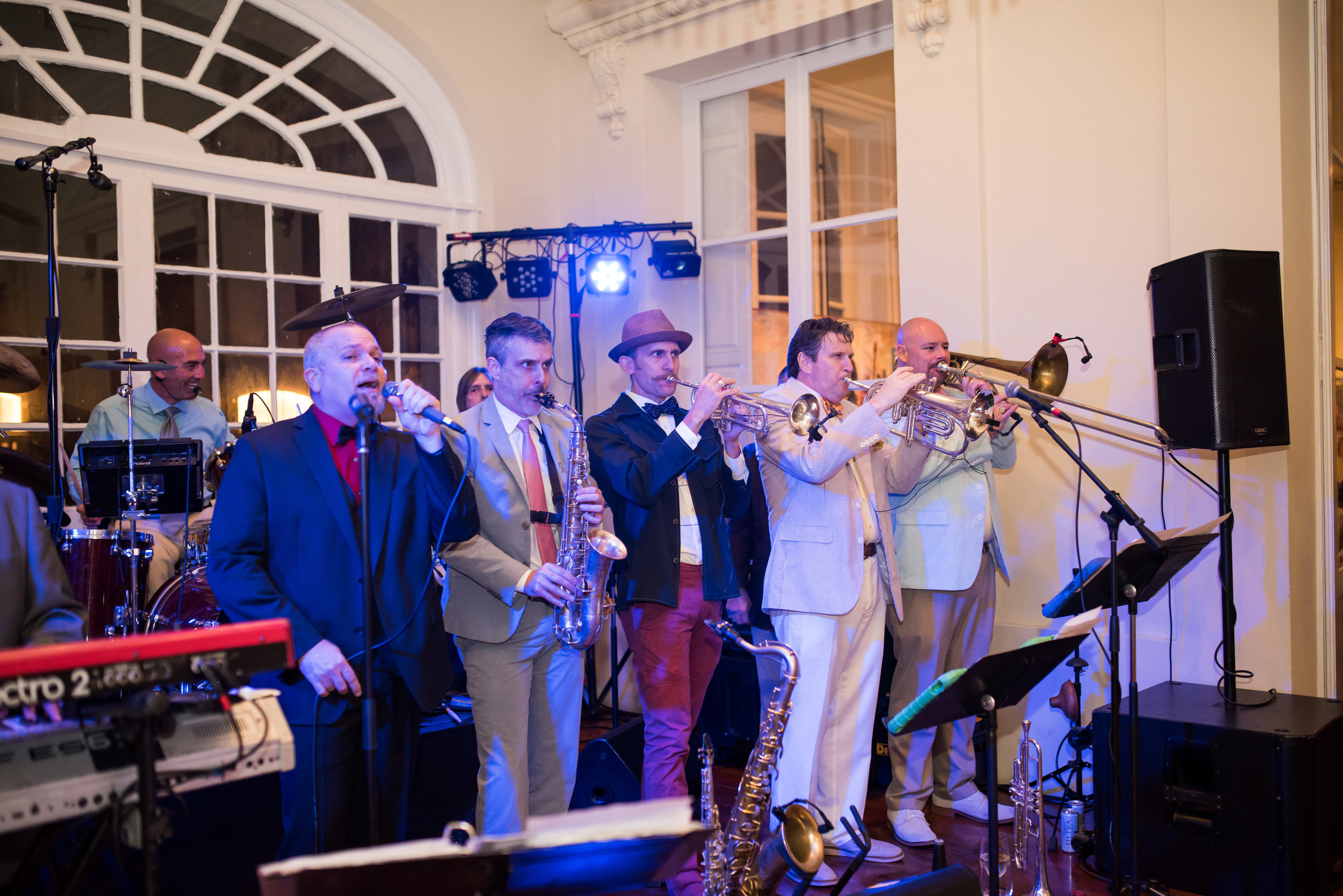 Southern Fete, Southern Wedding, Bucktown Allstars, Reception, Lindsey Rogers Photography