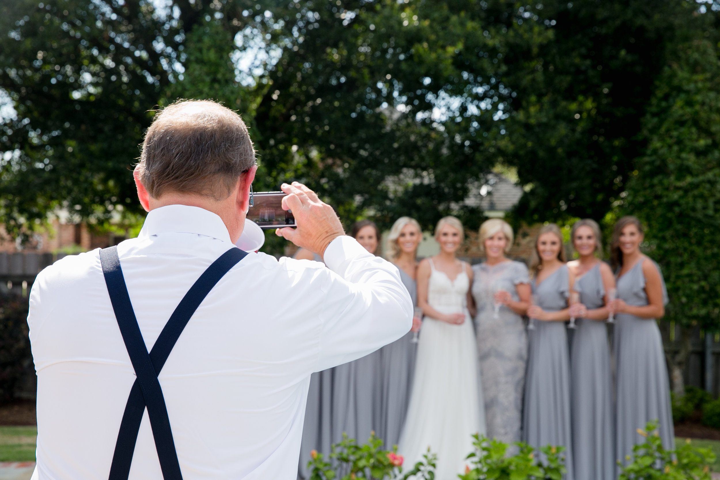 Southern Fete, Southern Wedding, Bridal Party, Brocato Photography