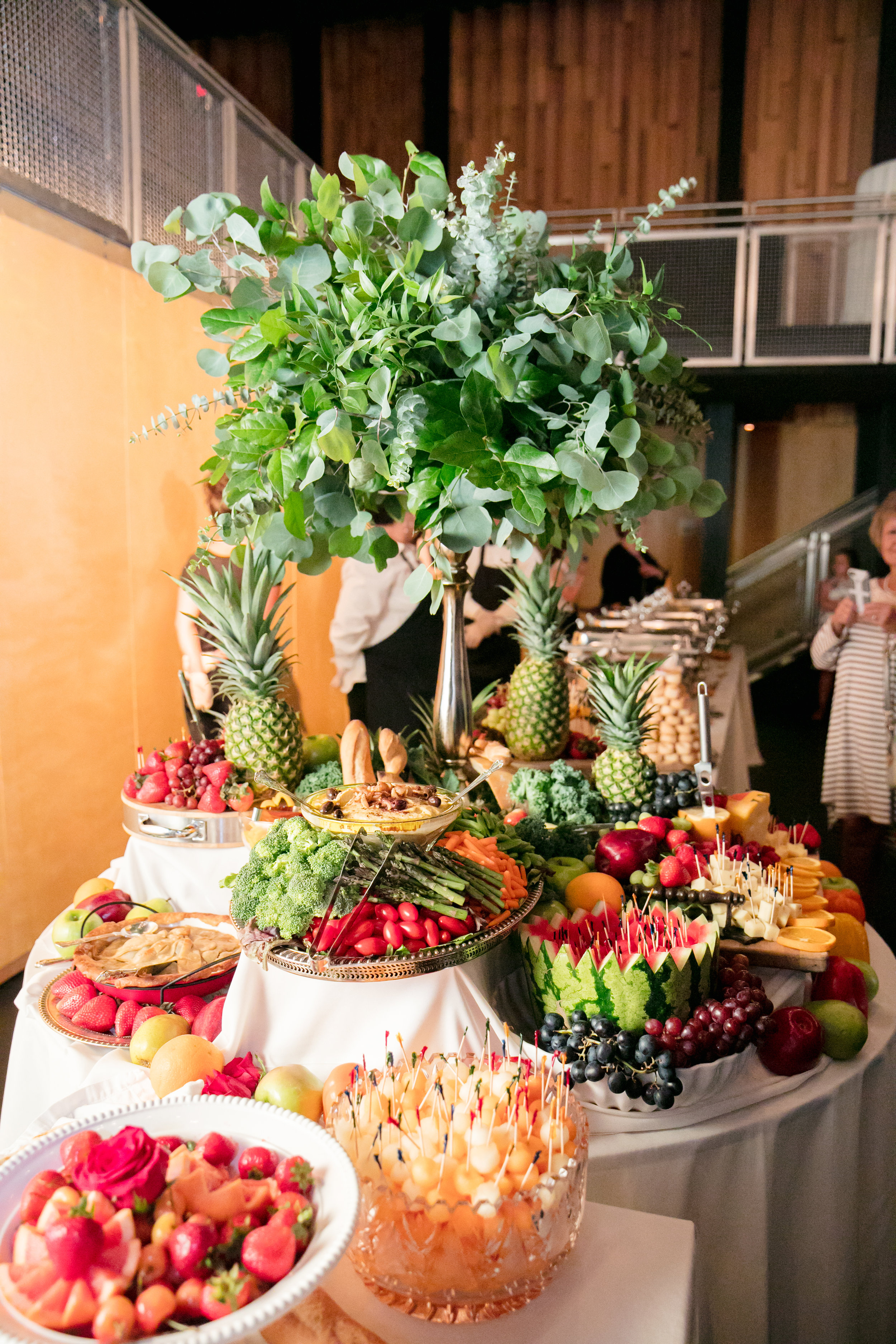 Southern Fete, Southern Wedding, Fruit table, Sam Trahan Catering