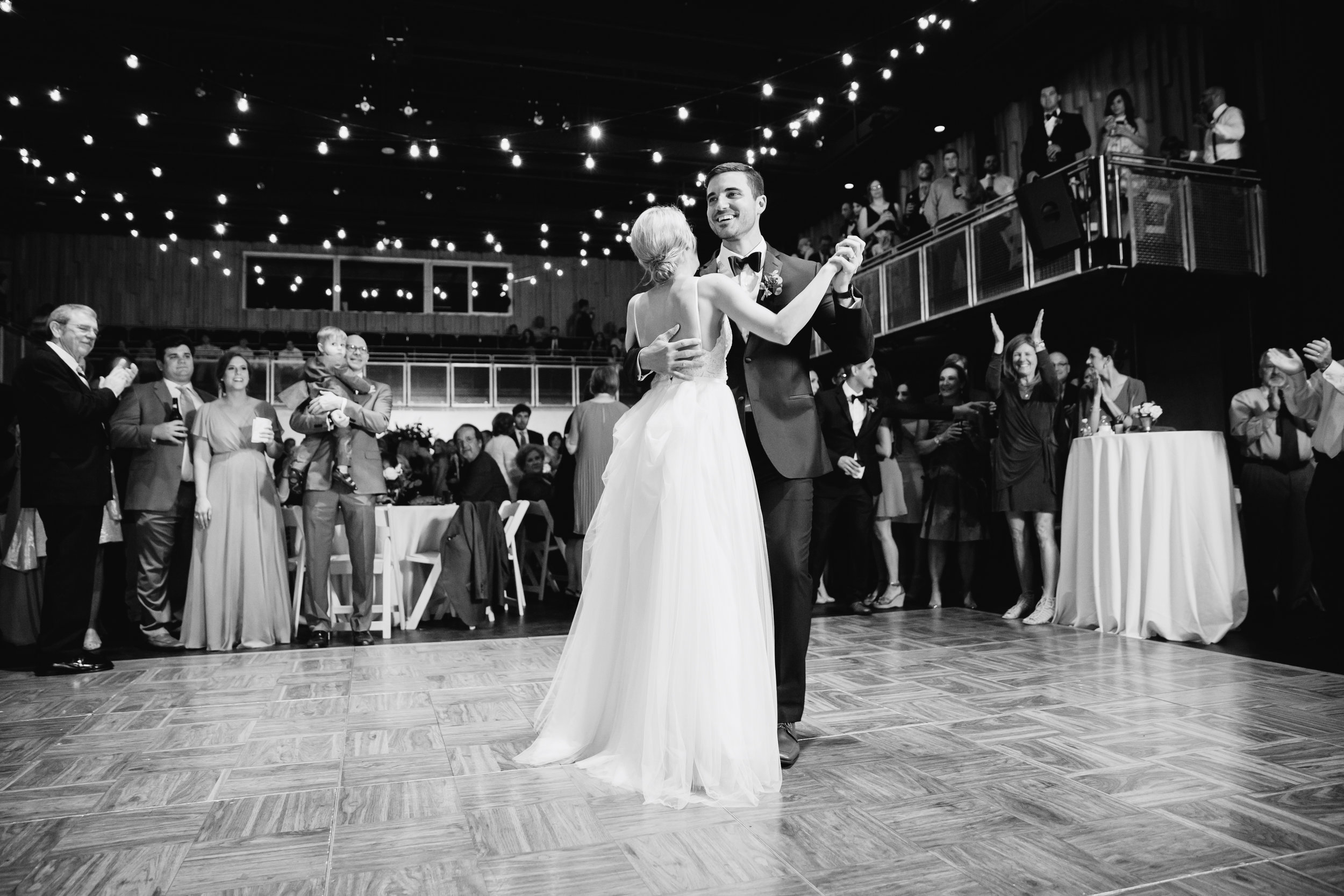 Southern Fete, Southern Wedding, Bride and Groom first dance, Brocato Photography