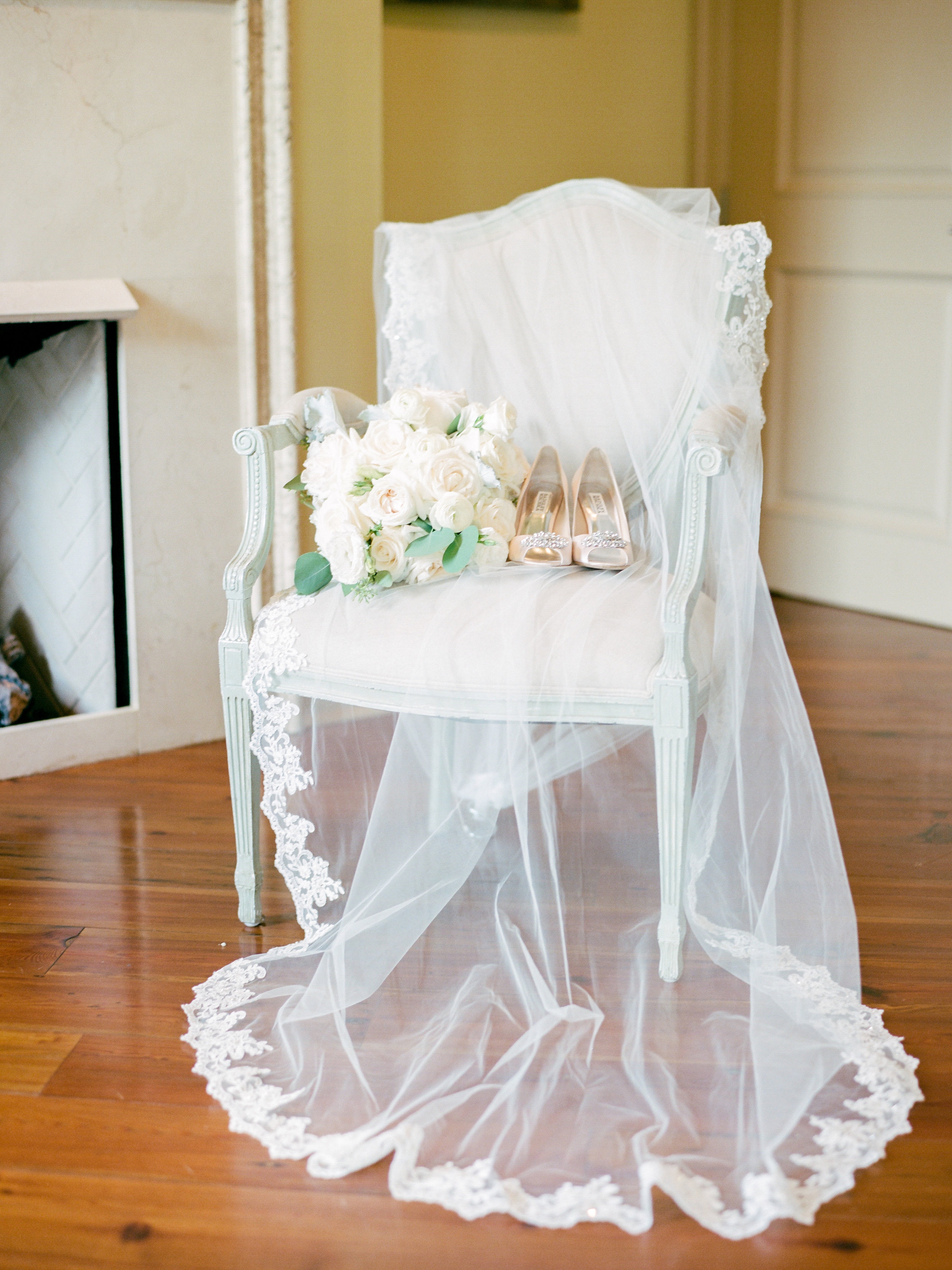 Southern Fete, Southern Wedding, Flowers by Rodney, Wedding shoes, Sarah Beth Photography