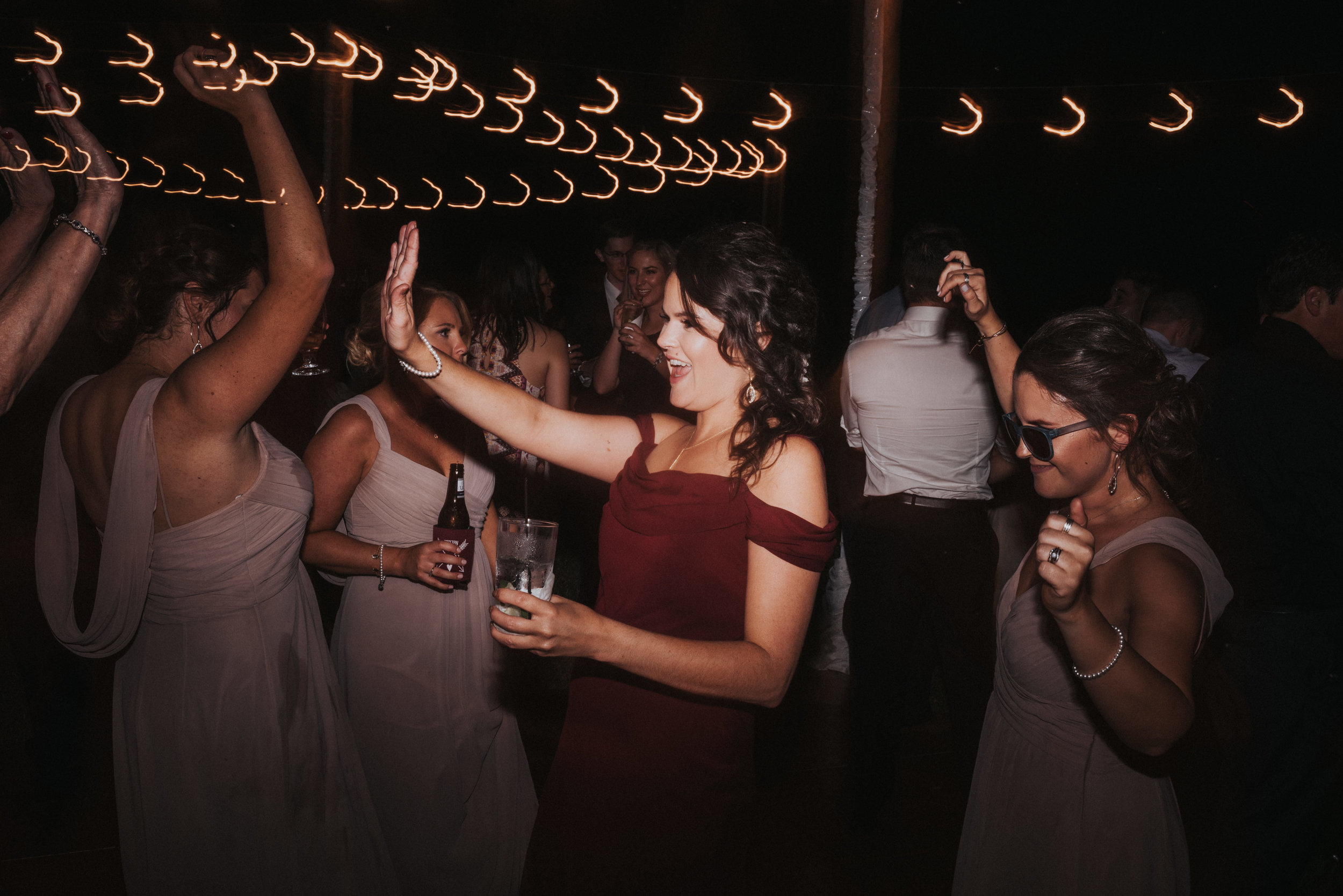 Southern Fete, Southern Wedding, Reception, Bridesmaids