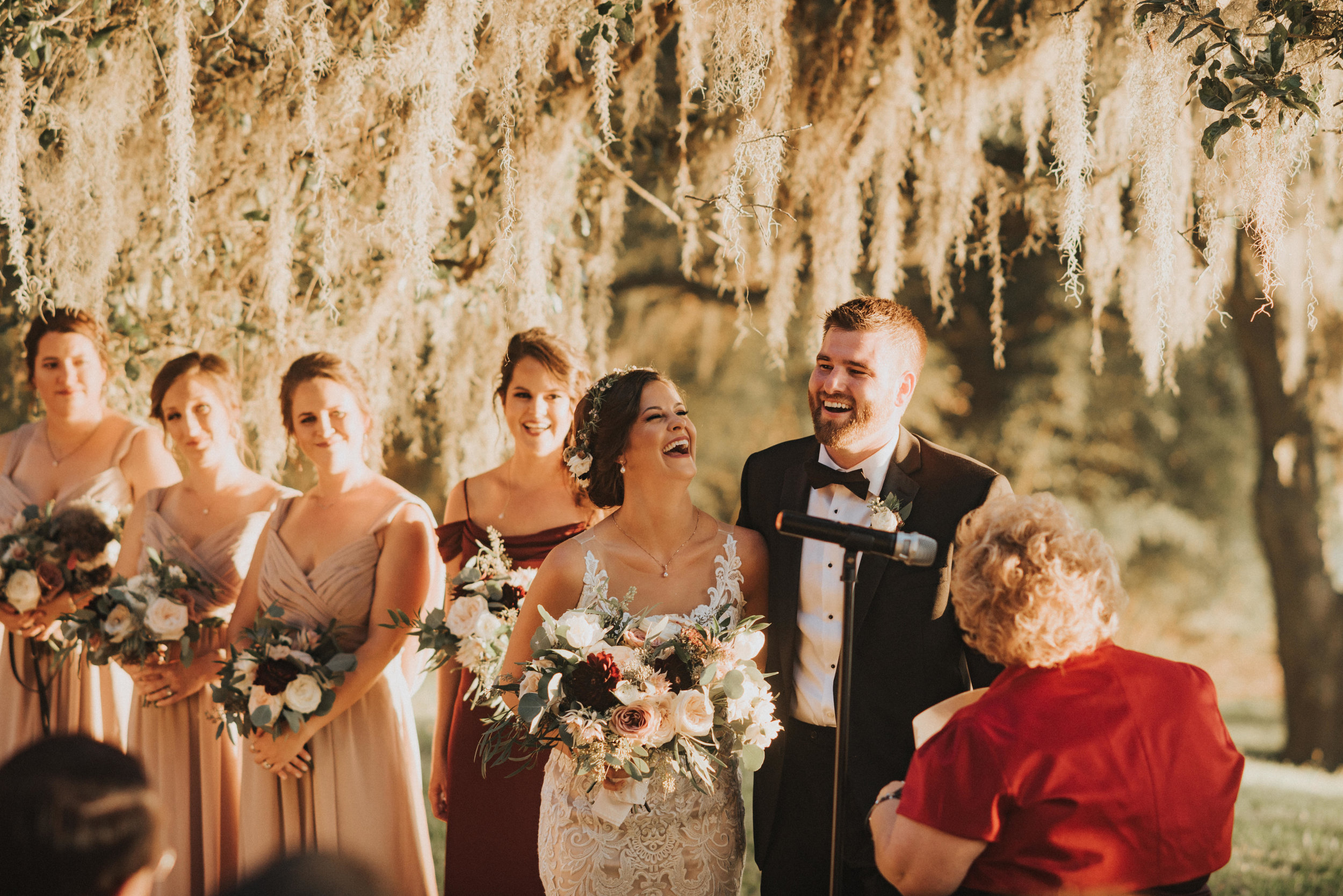 Southern Fete, Southern Wedding, Wedding Ceremony, Outside Wedding