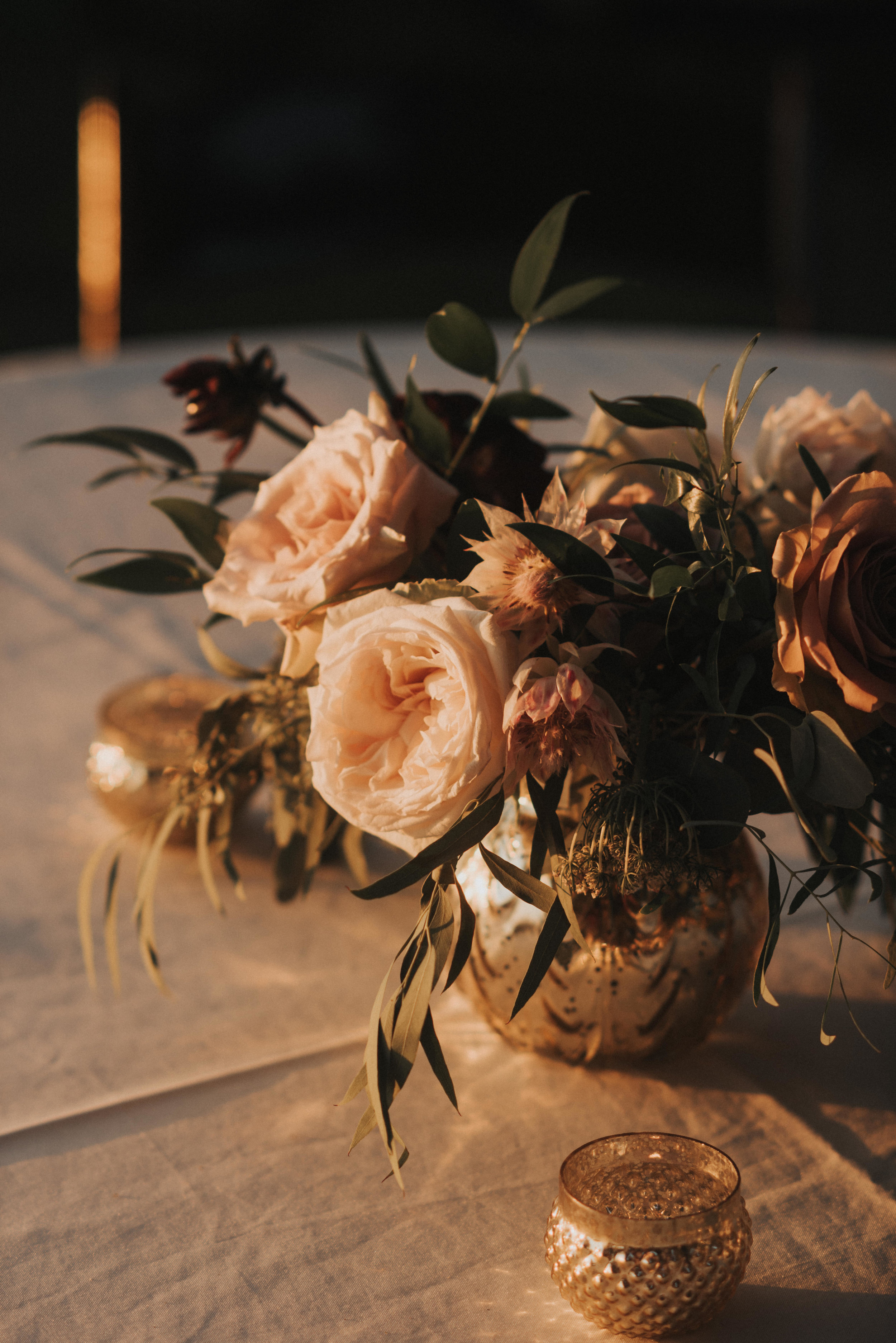 Southern Fete, Southern Wedding, Blush and Green Flower Bouquet