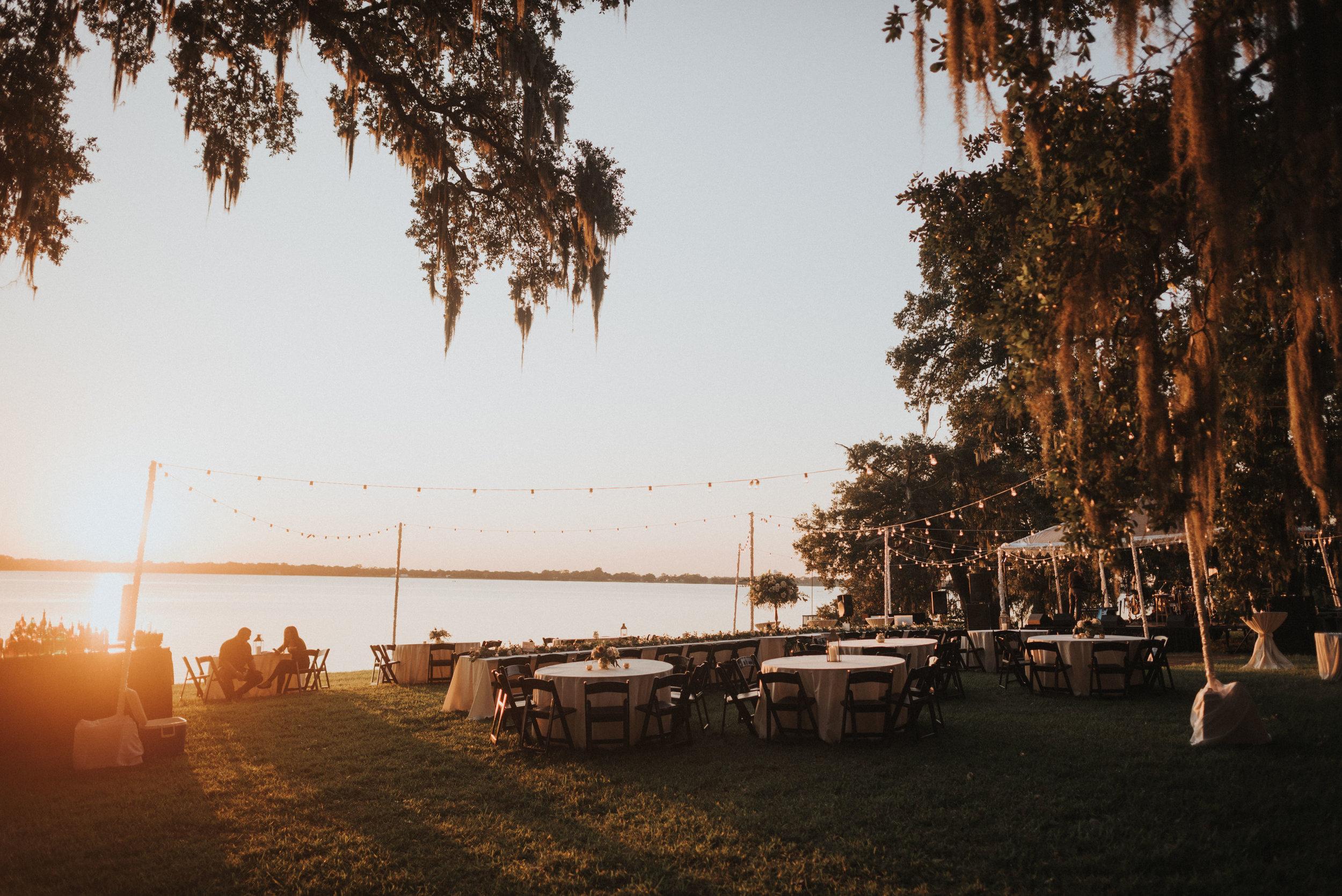 Southern Fete, Southern Wedding, Sunset Wedding