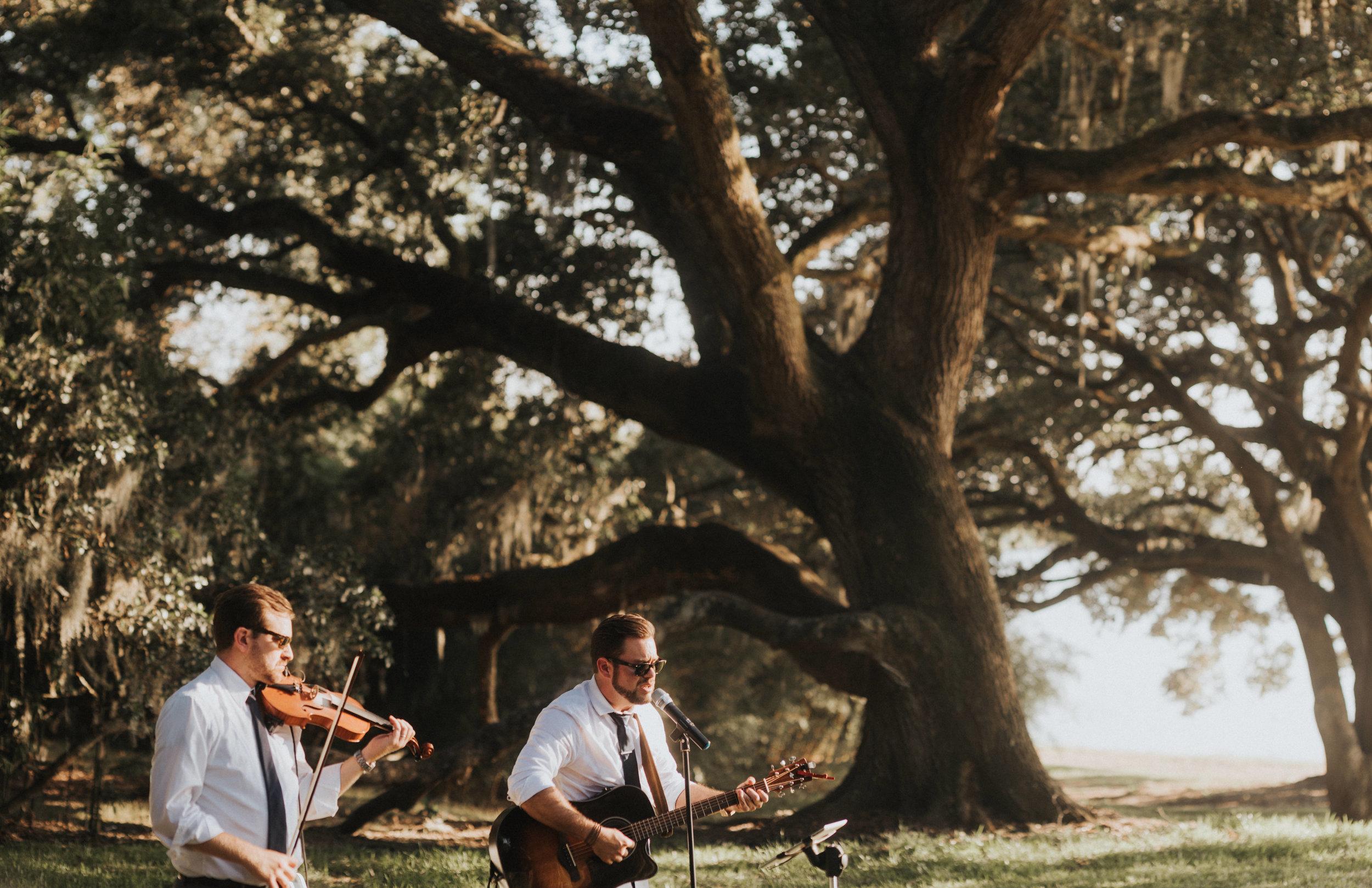 Southern Fete, Southern Wedding, Band, Outside Wedding