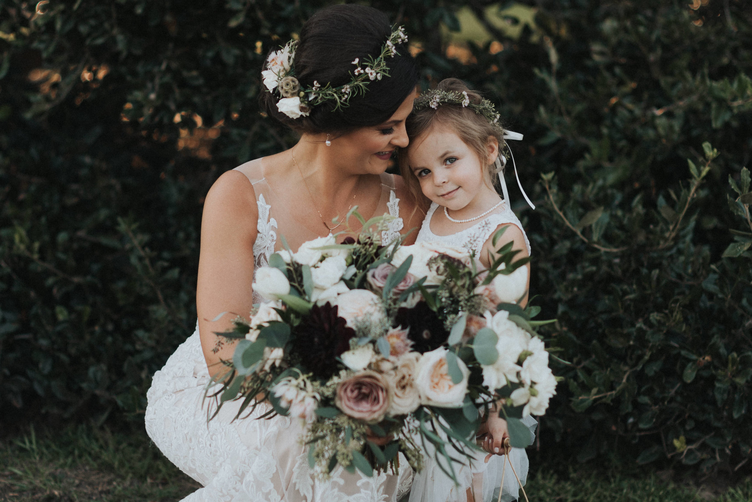 Southern Fete, Southern Wedding, Mother and daughter