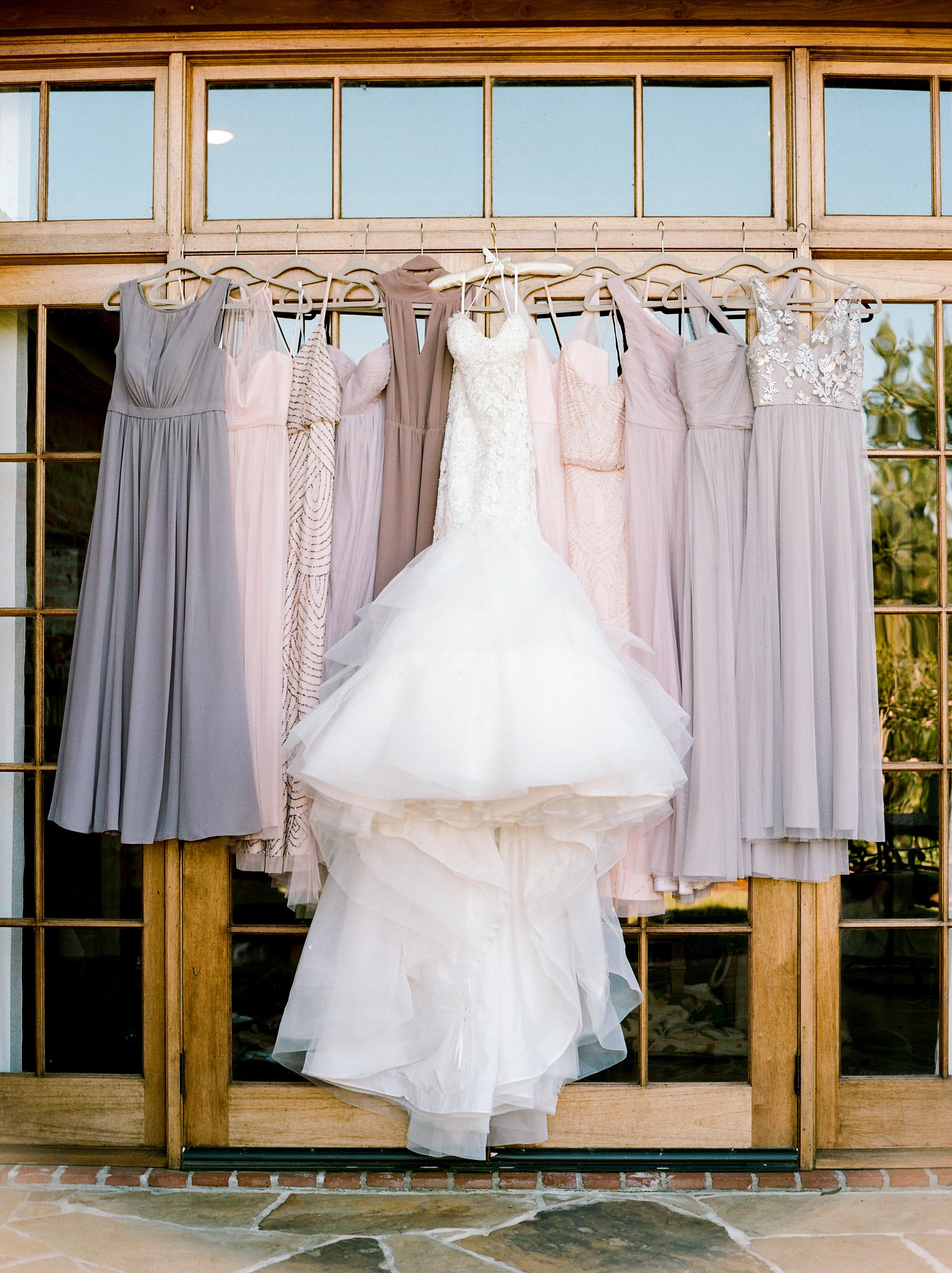 Southern Fete, Southern Wedding, Bride's Dress, Bridesmaids dresses