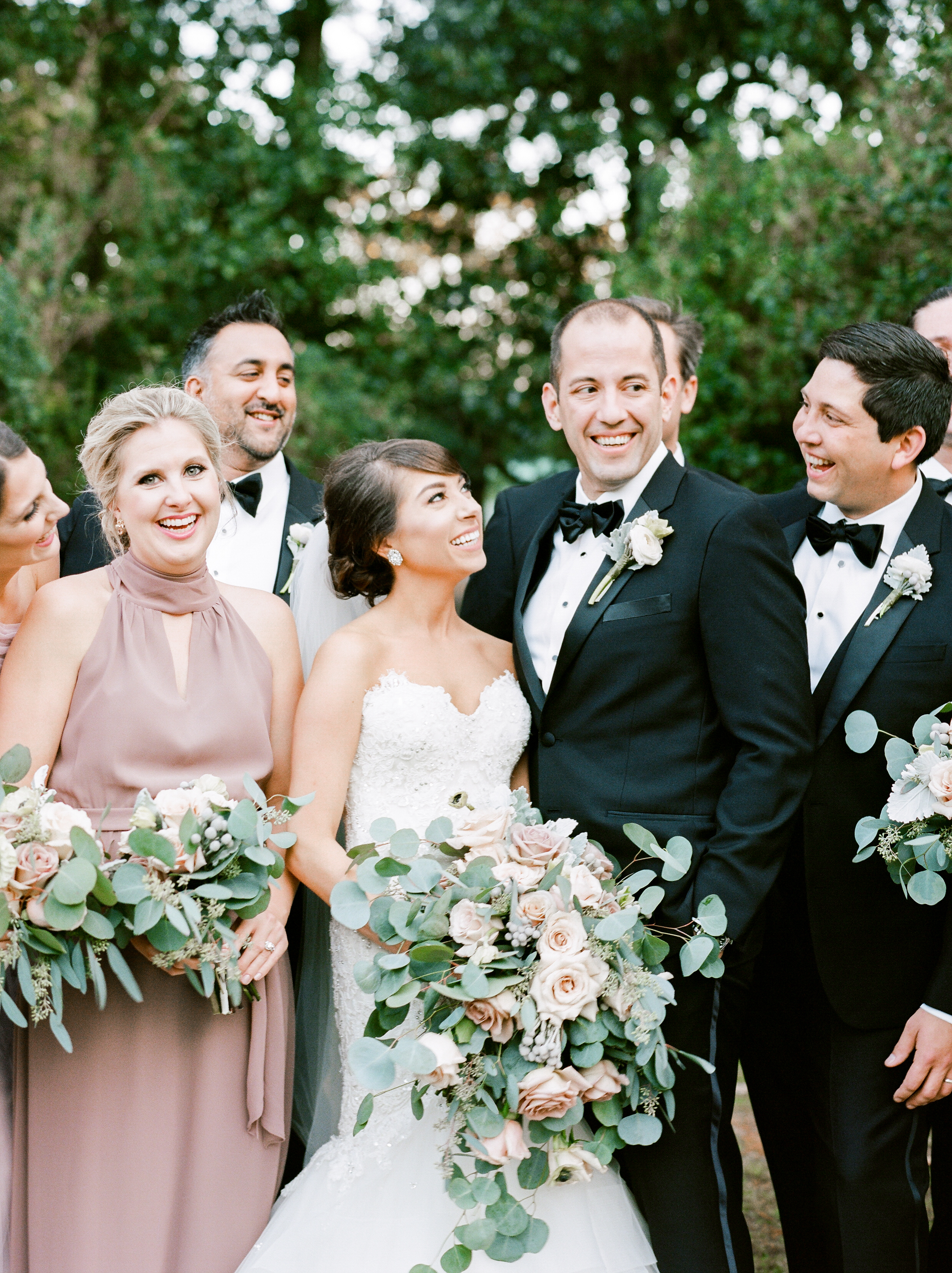 Southern Fete, Southern Wedding, Bride and Groom, Bridal Party