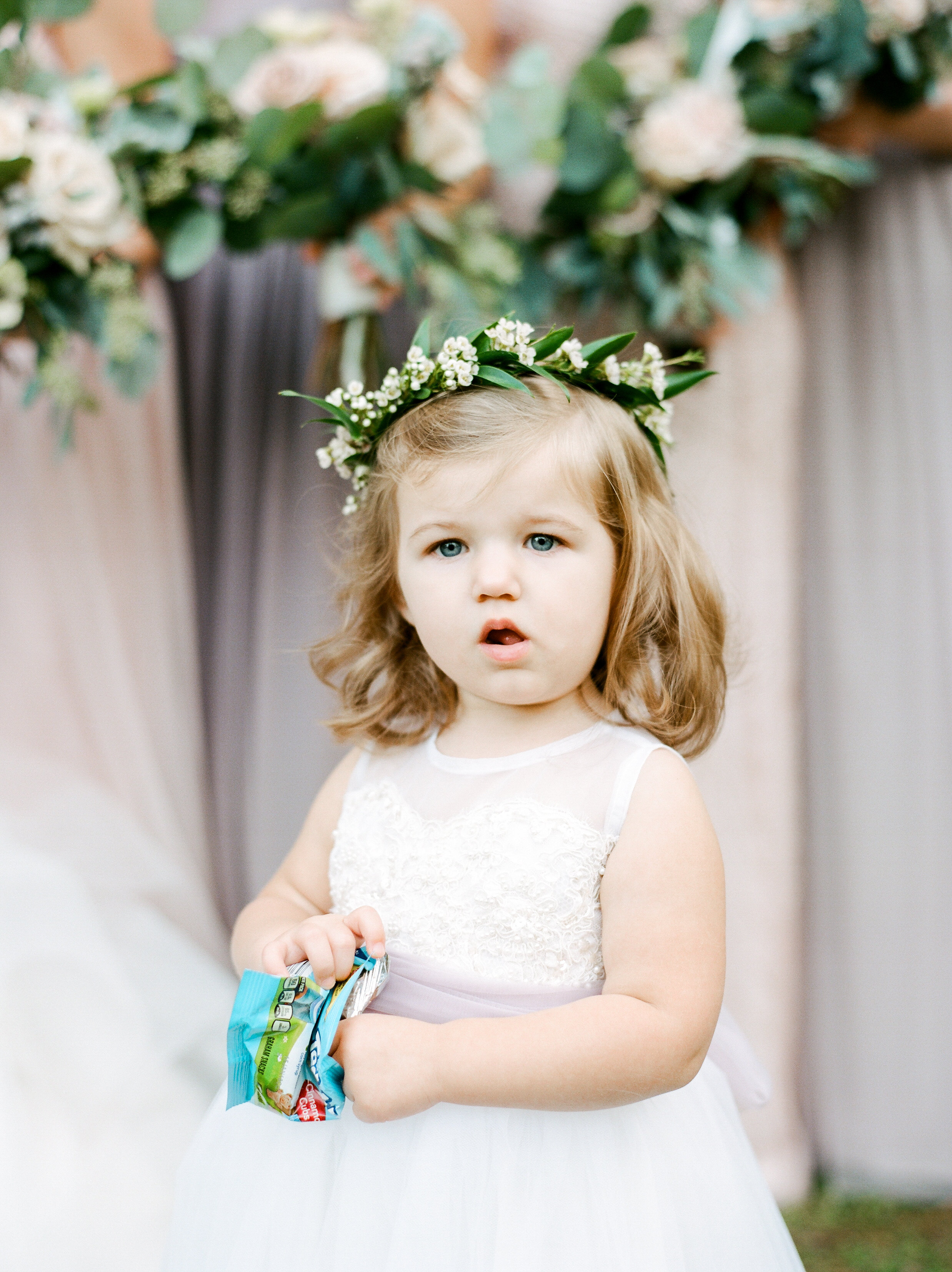 Southern Fete, Southern Wedding, Flower girl