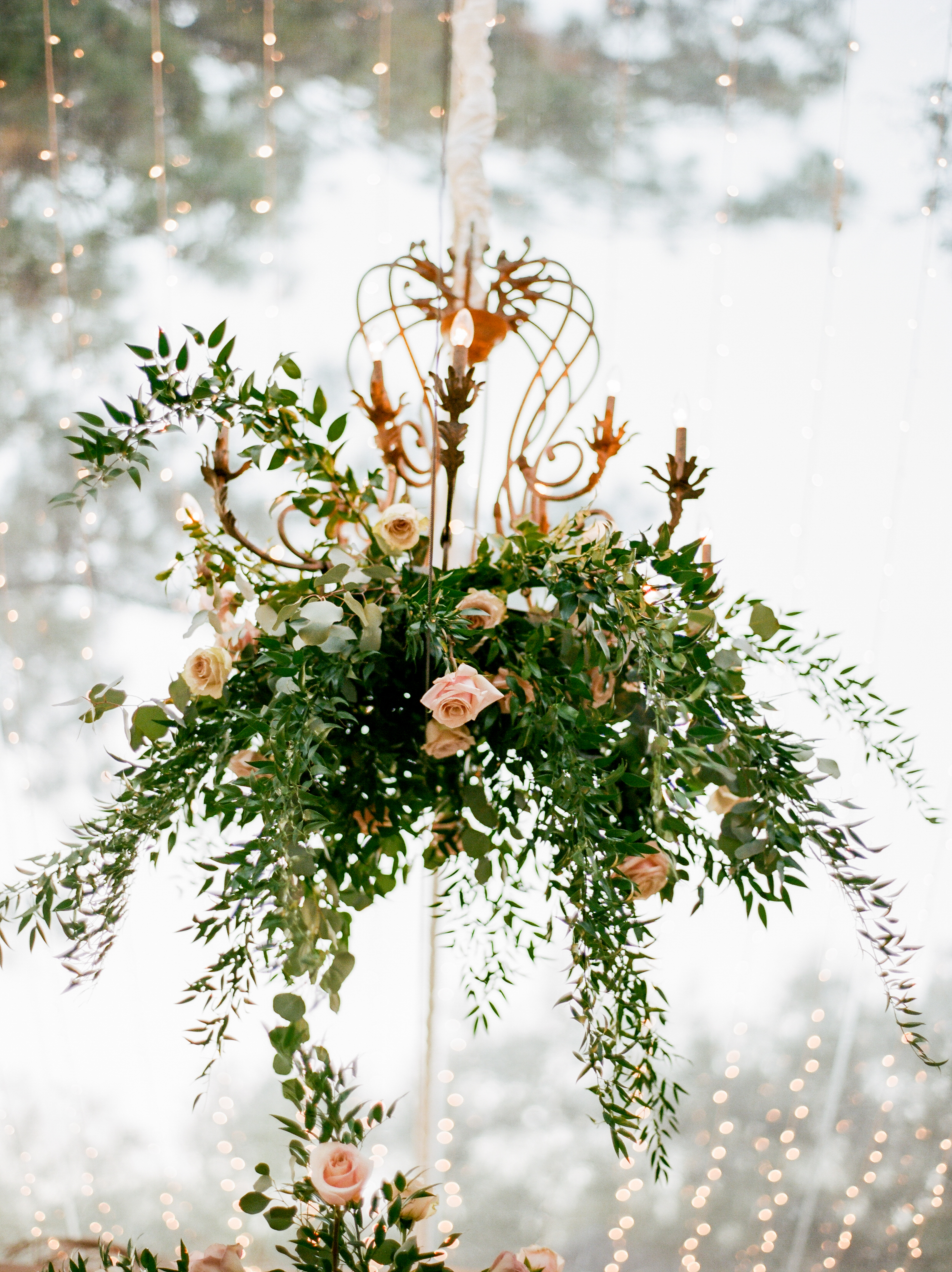 Southern Fete, Southern Wedding, Pink and Green Flower Bouquet