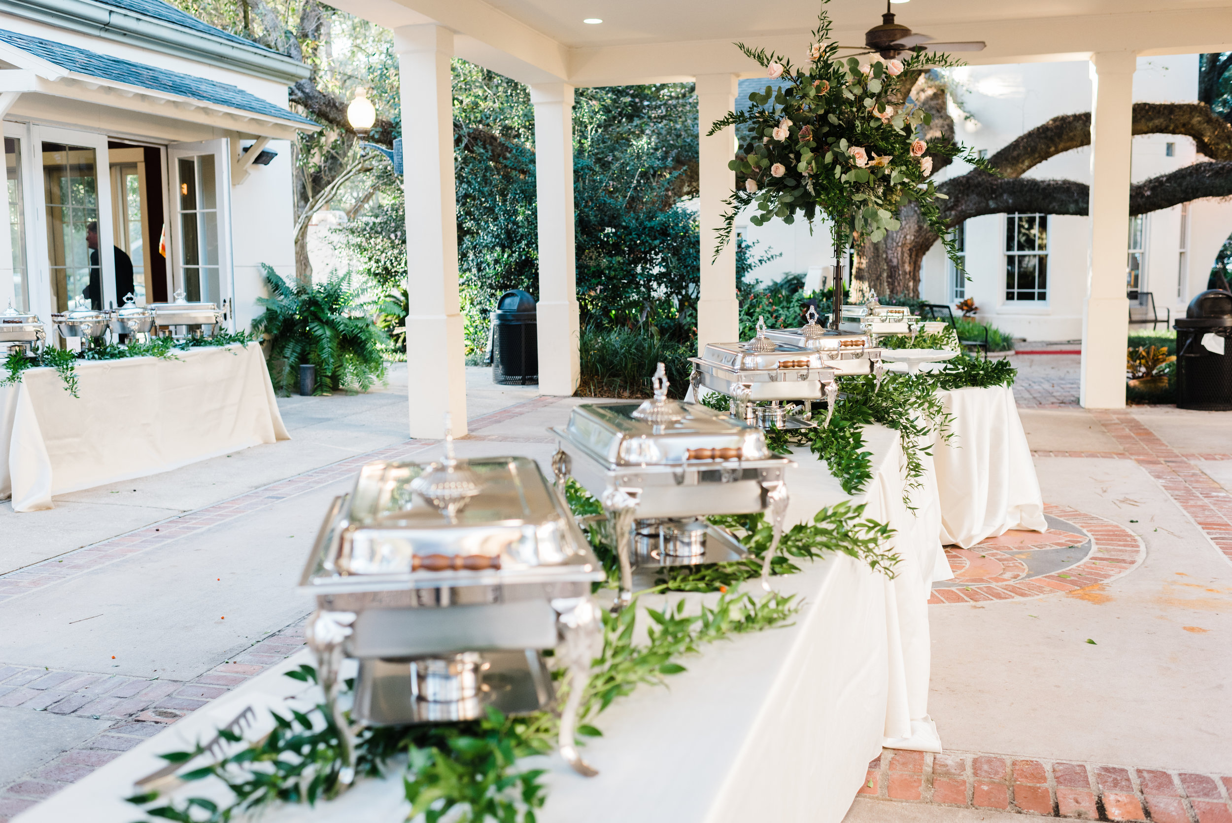 Southern Fete, Southern Wedding, Food Table