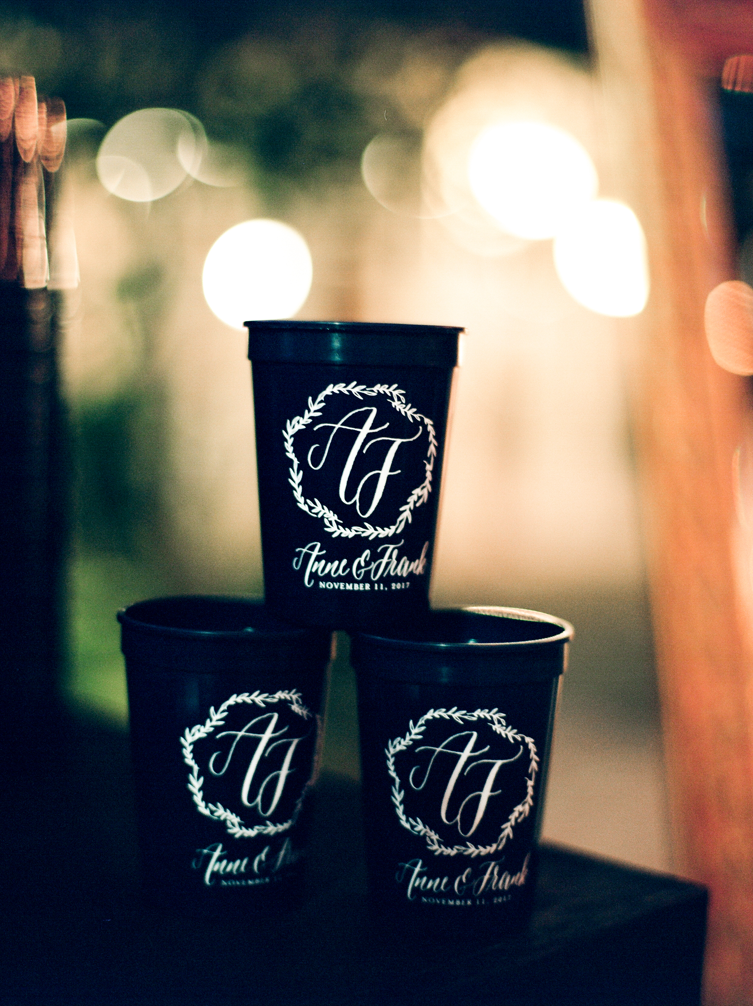 Southern Fete, Southern Wedding, Party cups