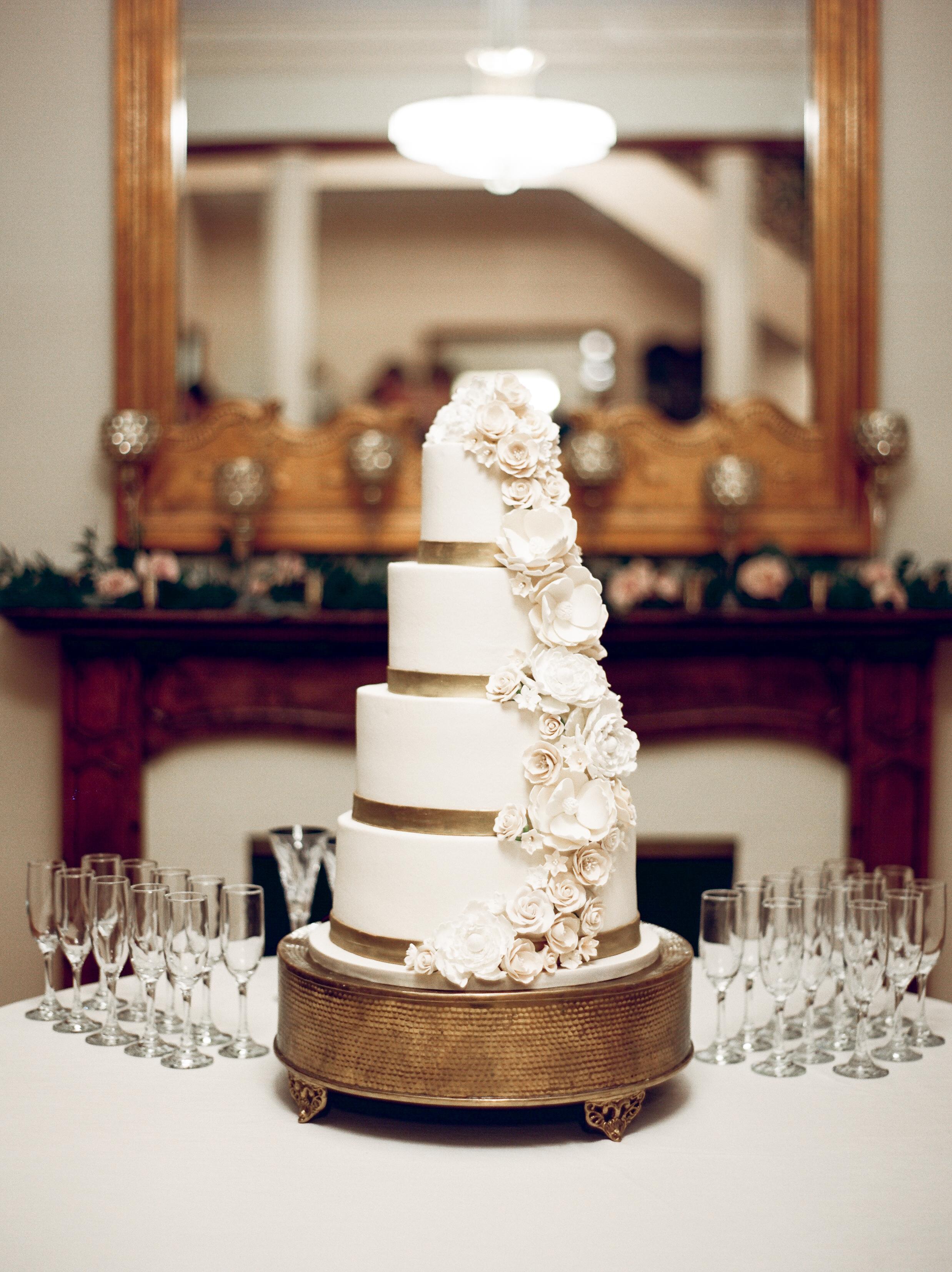 Southern Fete, Southern Wedding, Wedding Cake, Bride's Cake