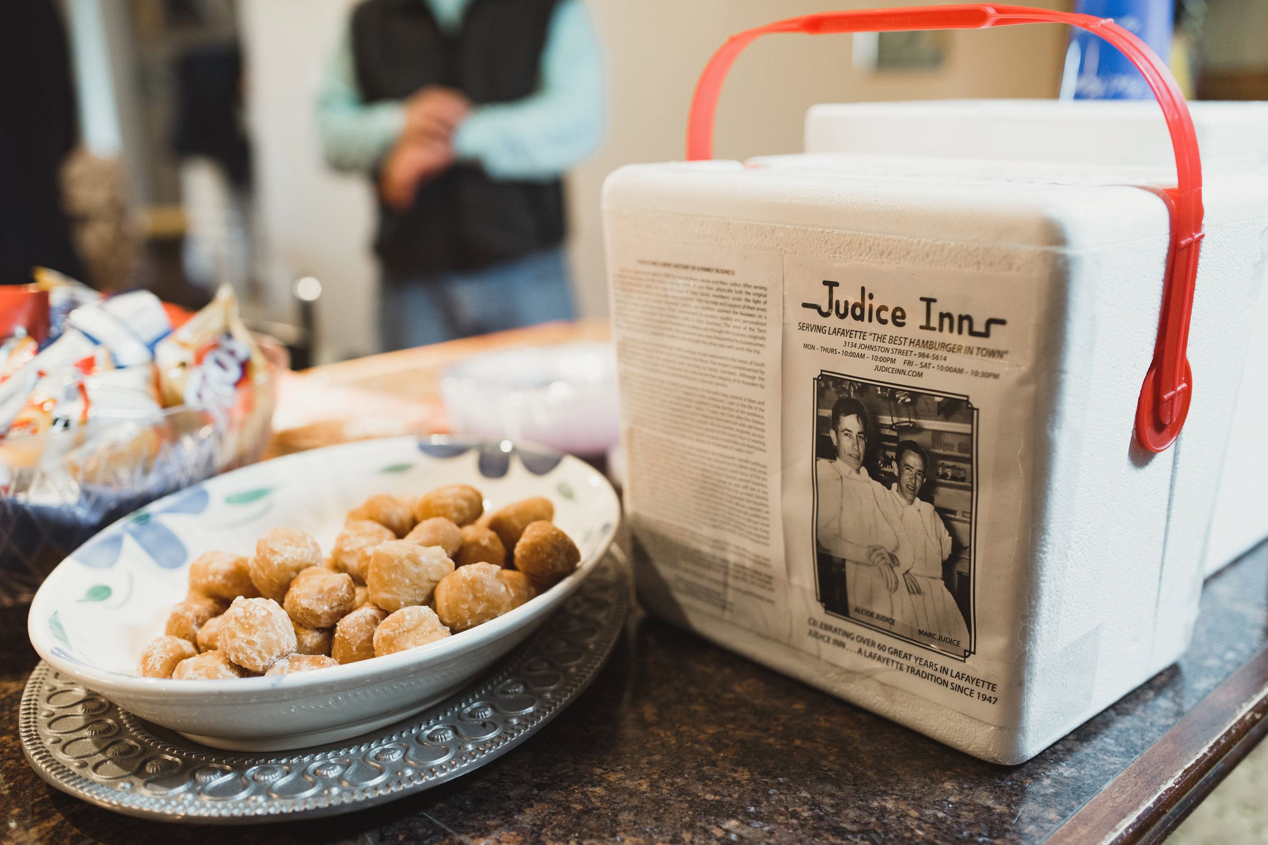 Southern Fete, Southern Wedding, Judice Inn, Donuts, Kimbrali Photography, Occasions by Gwen
