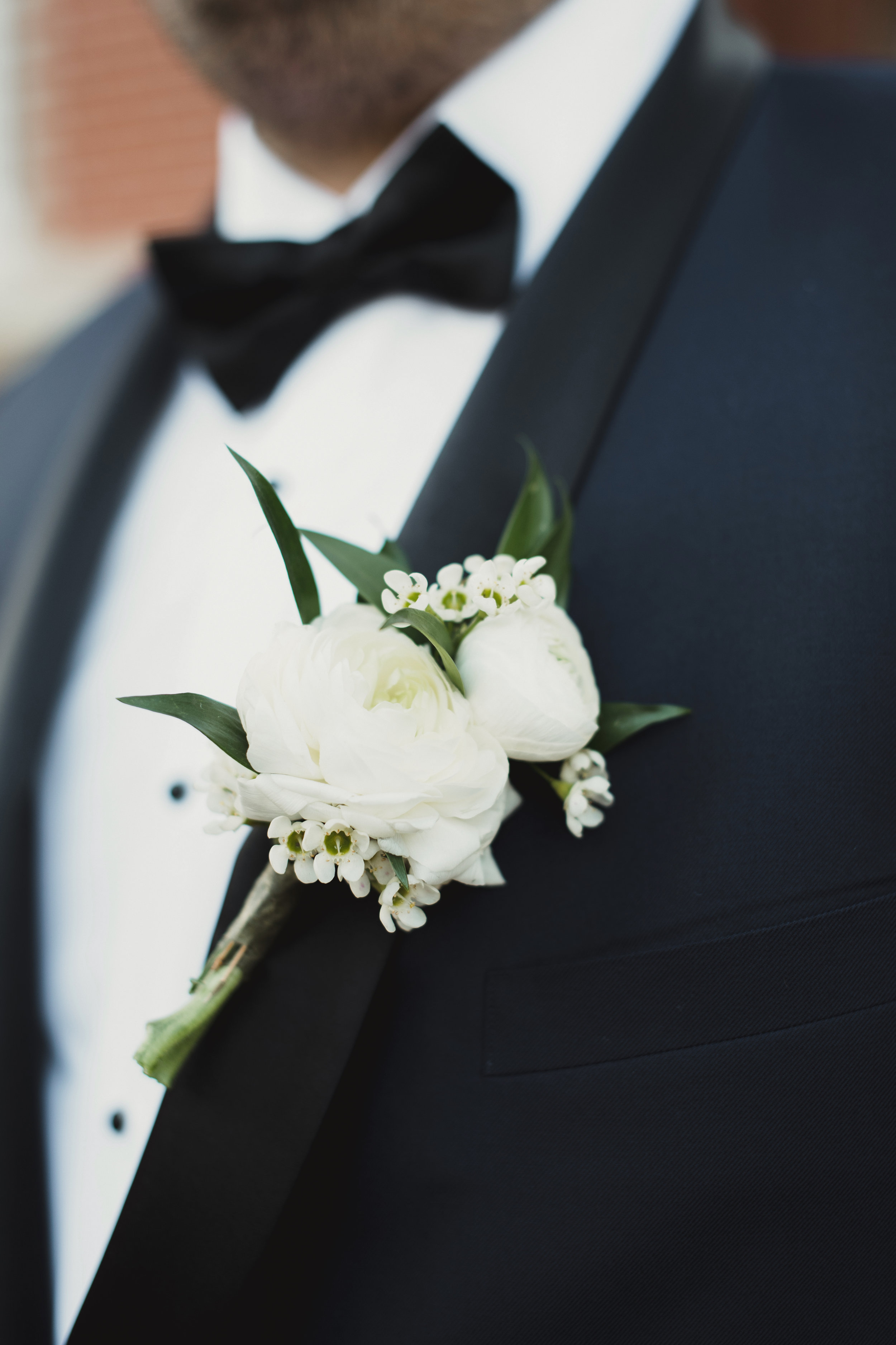 Southern Fete, Southern Wedding, Flowers by Rodney, Groom's Boutonniere