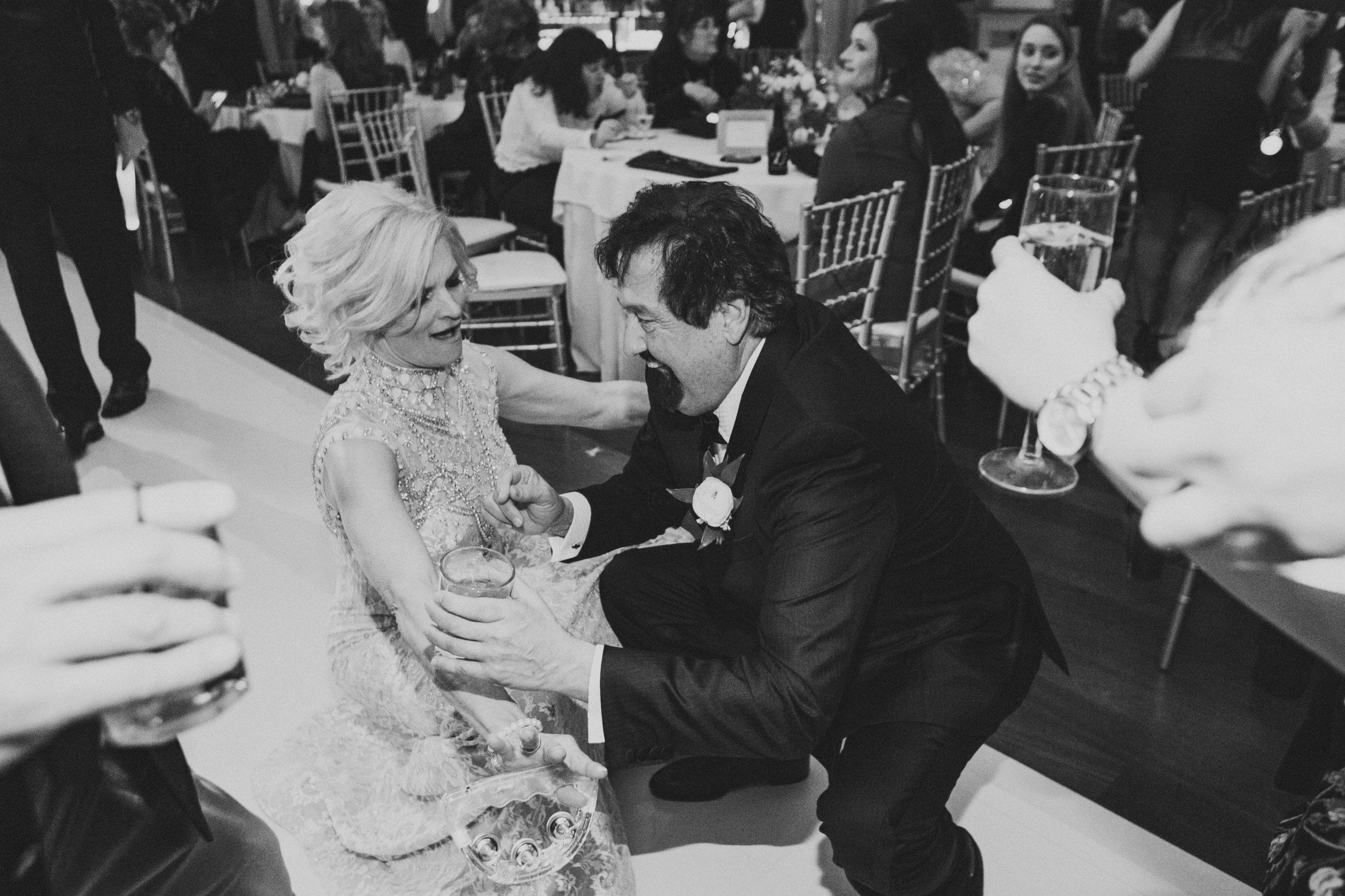 Southern Fete, Southern Wedding, Bride's parents, Le Pavillon, Kimbrali Photography