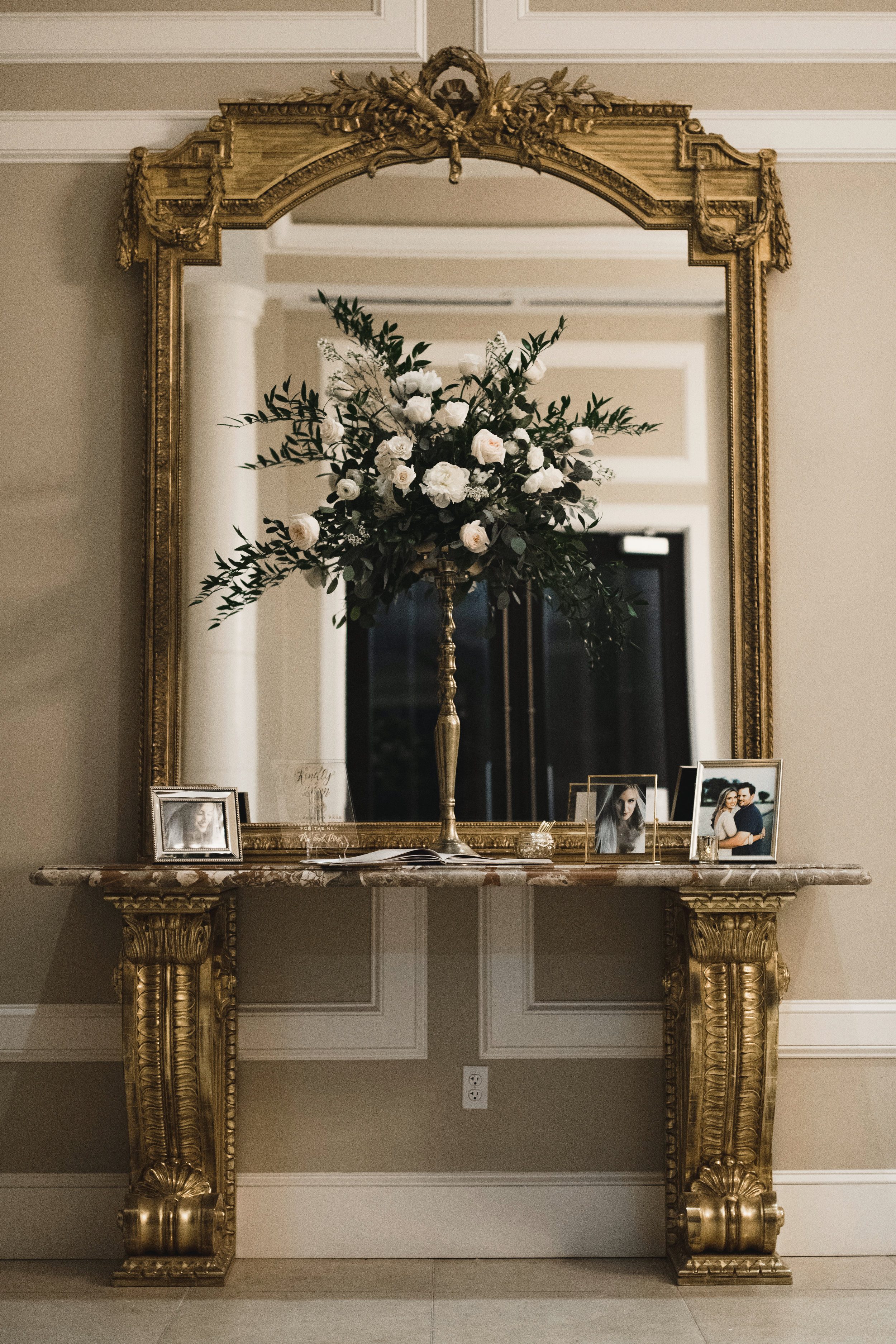 Southern Fete, Southern Wedding, Welcome Entry Table, Kimbrali Photography