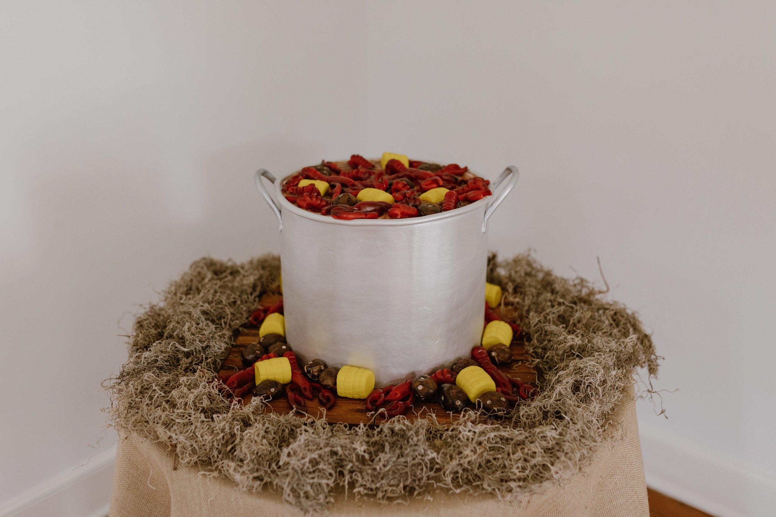 Southern Fete, Southern Wedding, Decorations, Mini Crawfish Boil