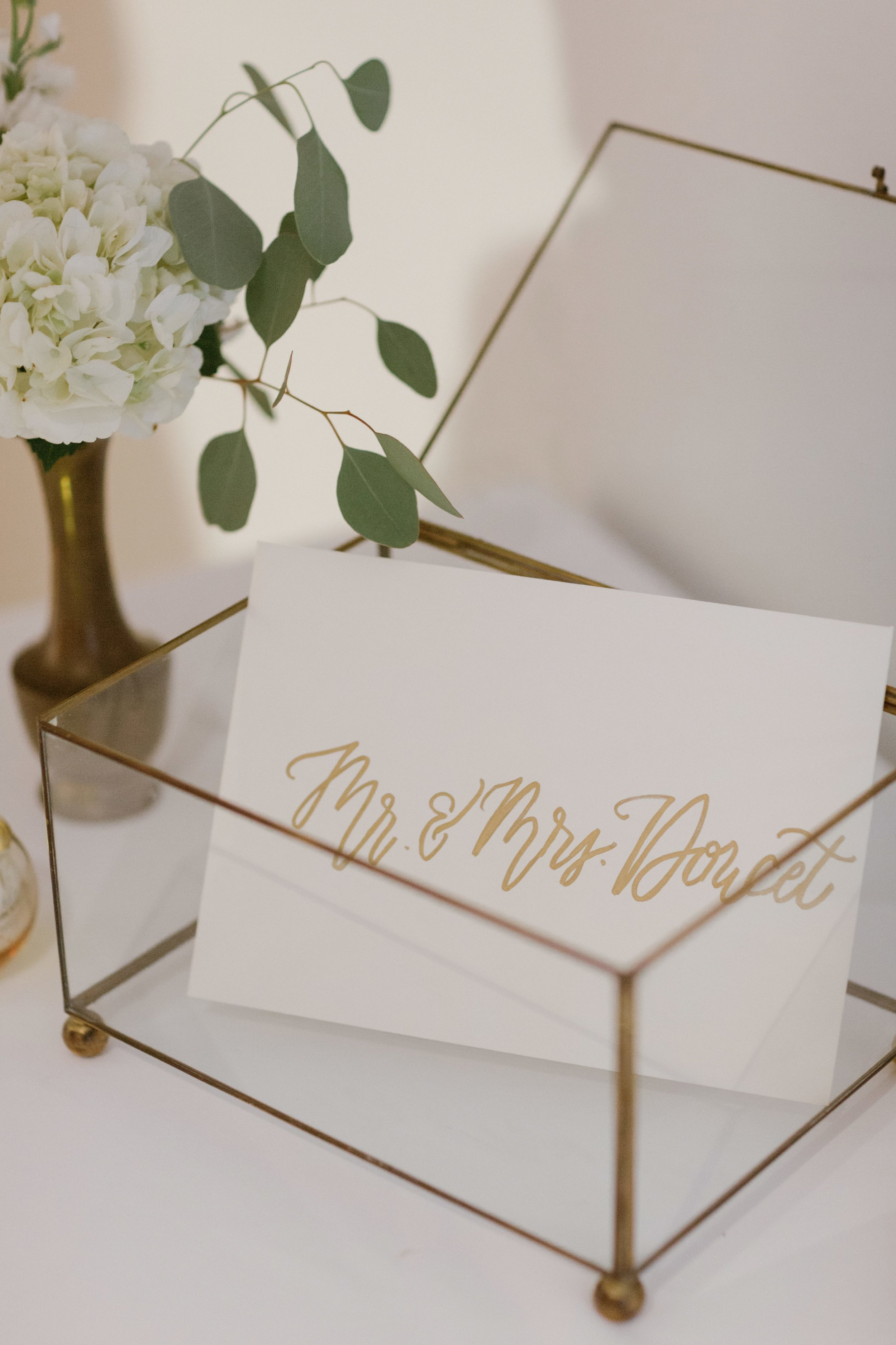 Southern Fete, Southern Wedding, Mary Catherine Calligraphy, September Company, Crystal Weddings