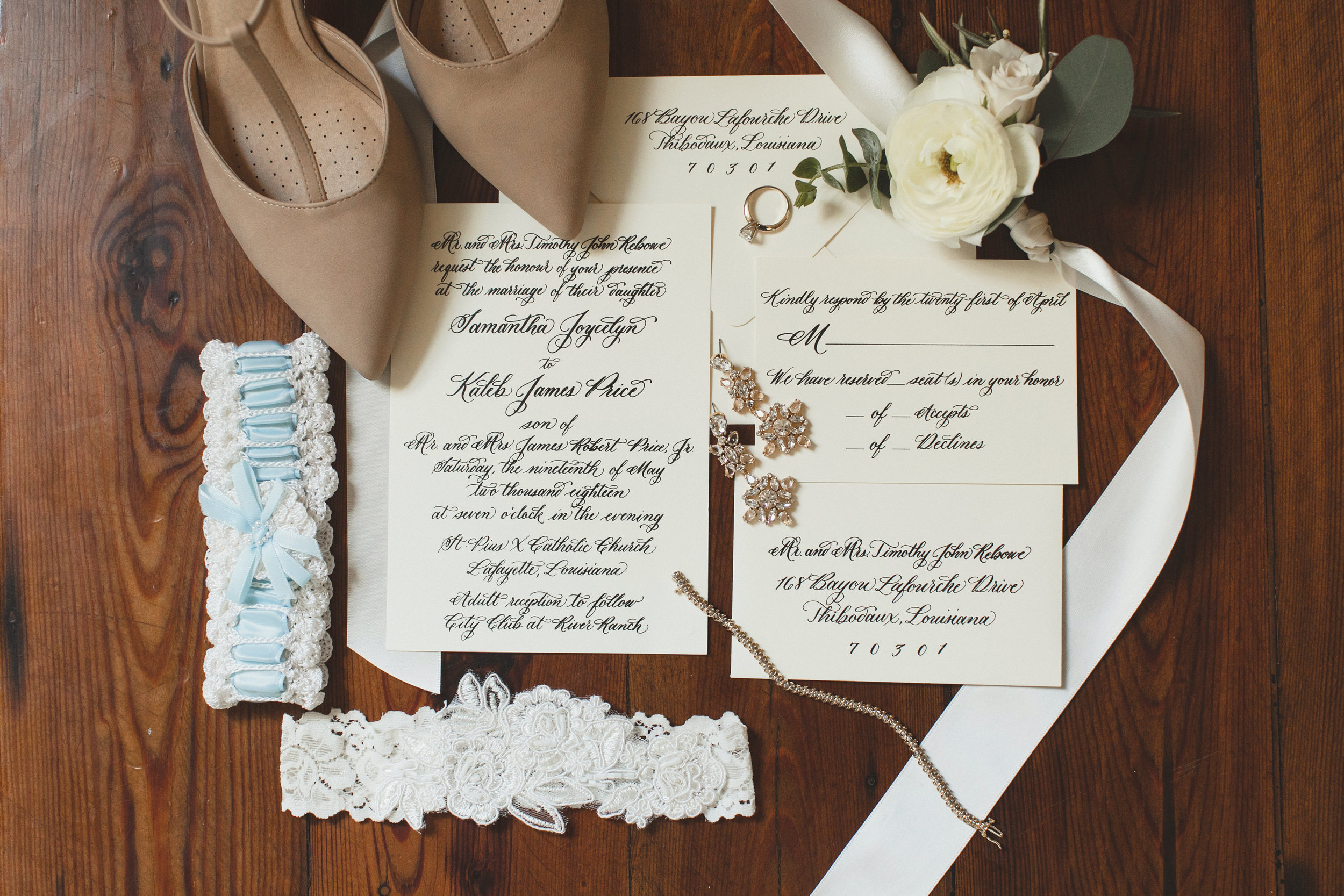 Southern Fete, Southern Wedding, Save the dates, St. Blanc Calligraphy