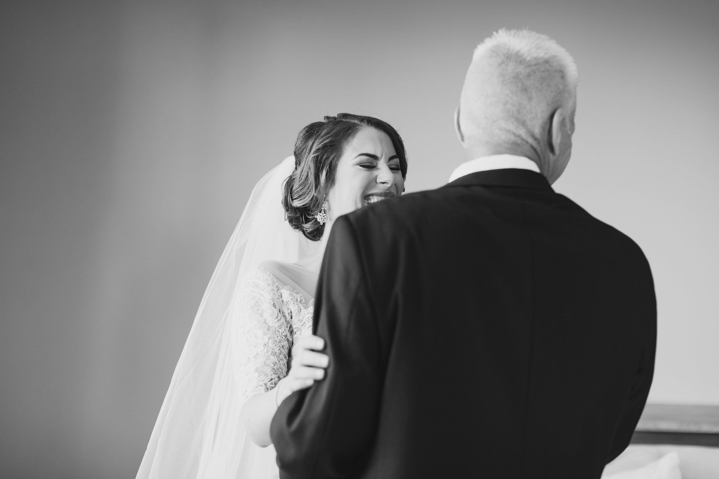 Southern Fete, Southern Wedding, Bride and her Father, Kimbrali Photography