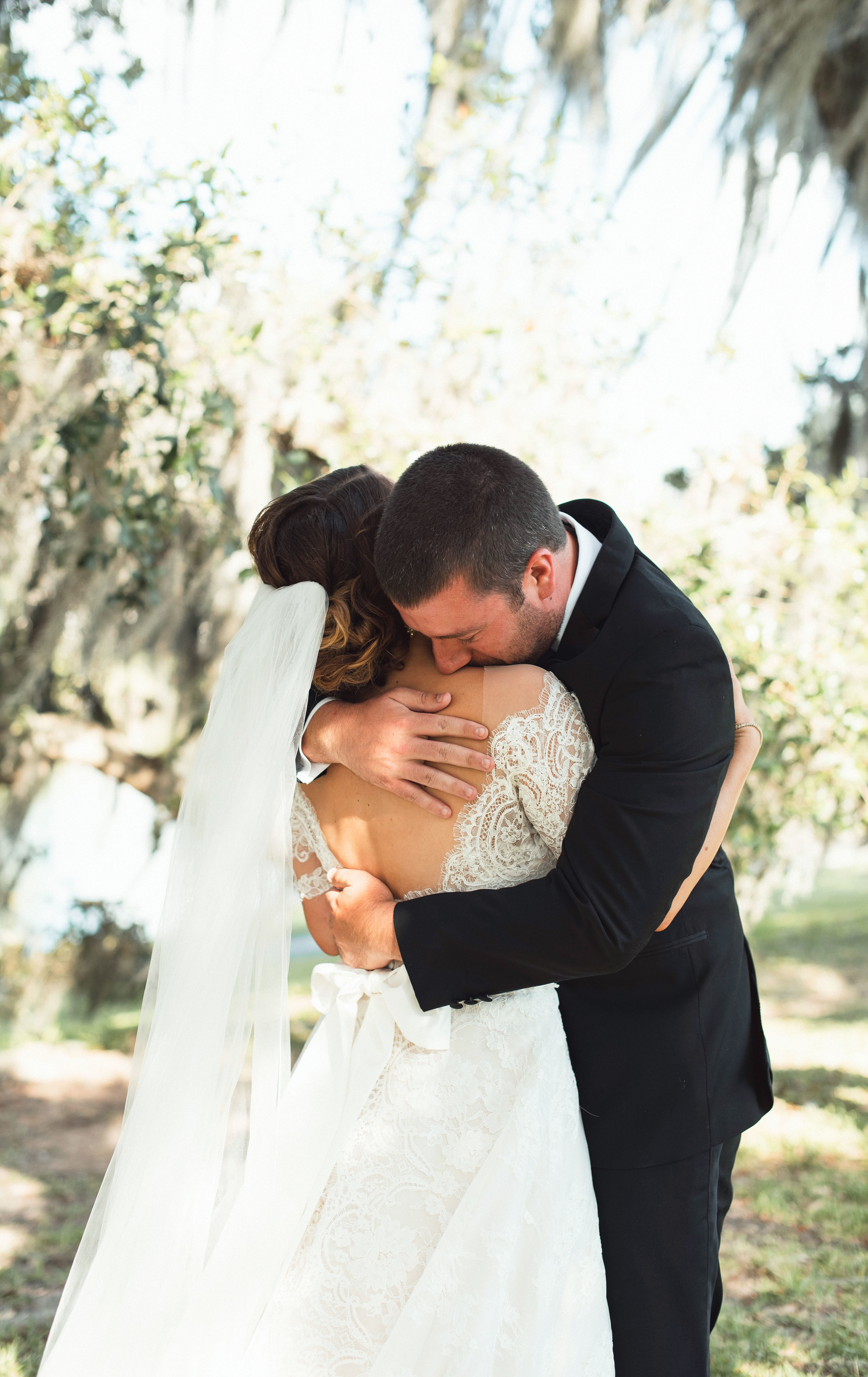 Southern Fete, Southern Wedding, Bride and Groom first look, Kimbrali Photography