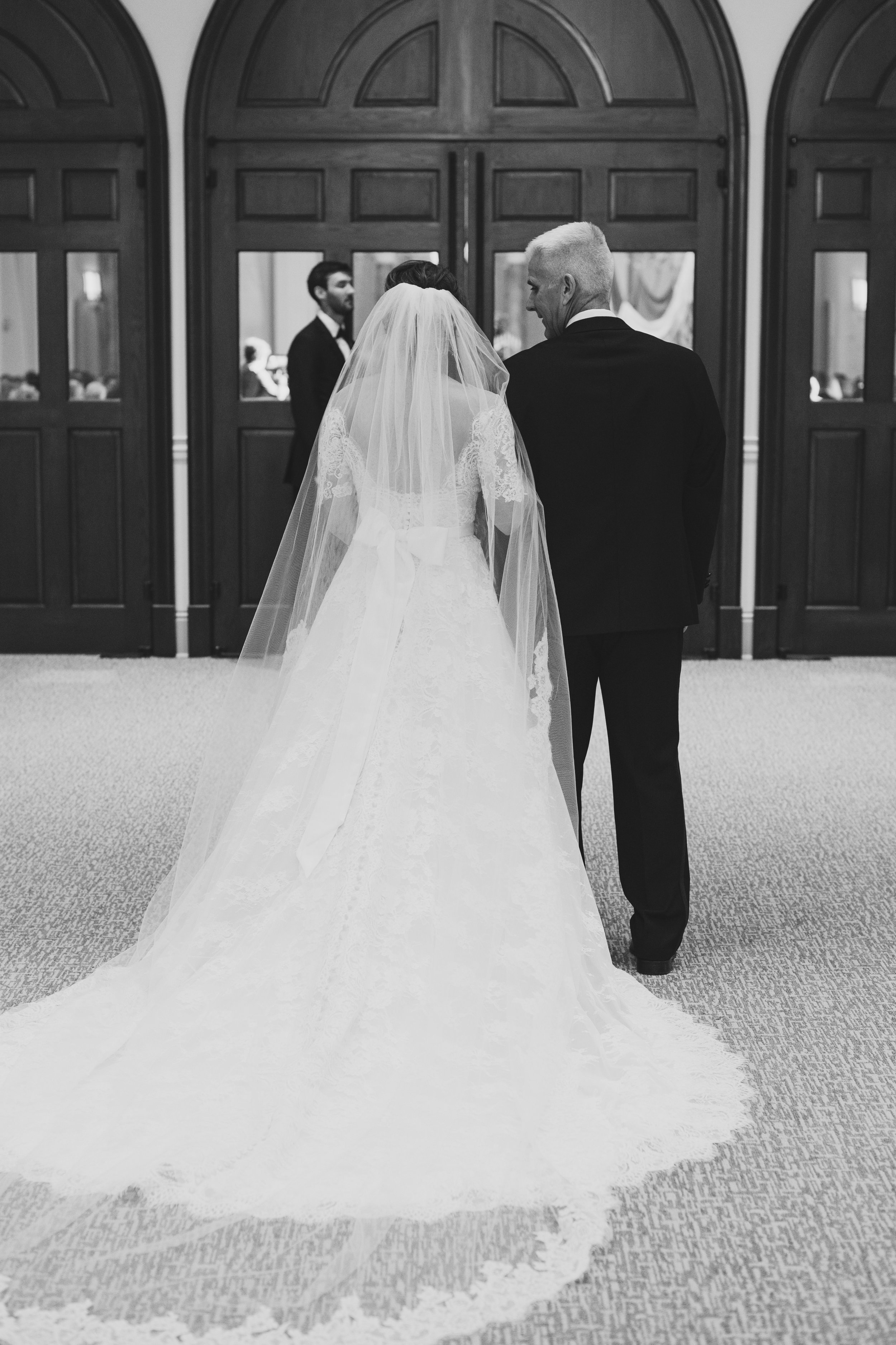 Southern Fete, Southern Wedding, City Club, Bride and her Father, Kimbrali Photography