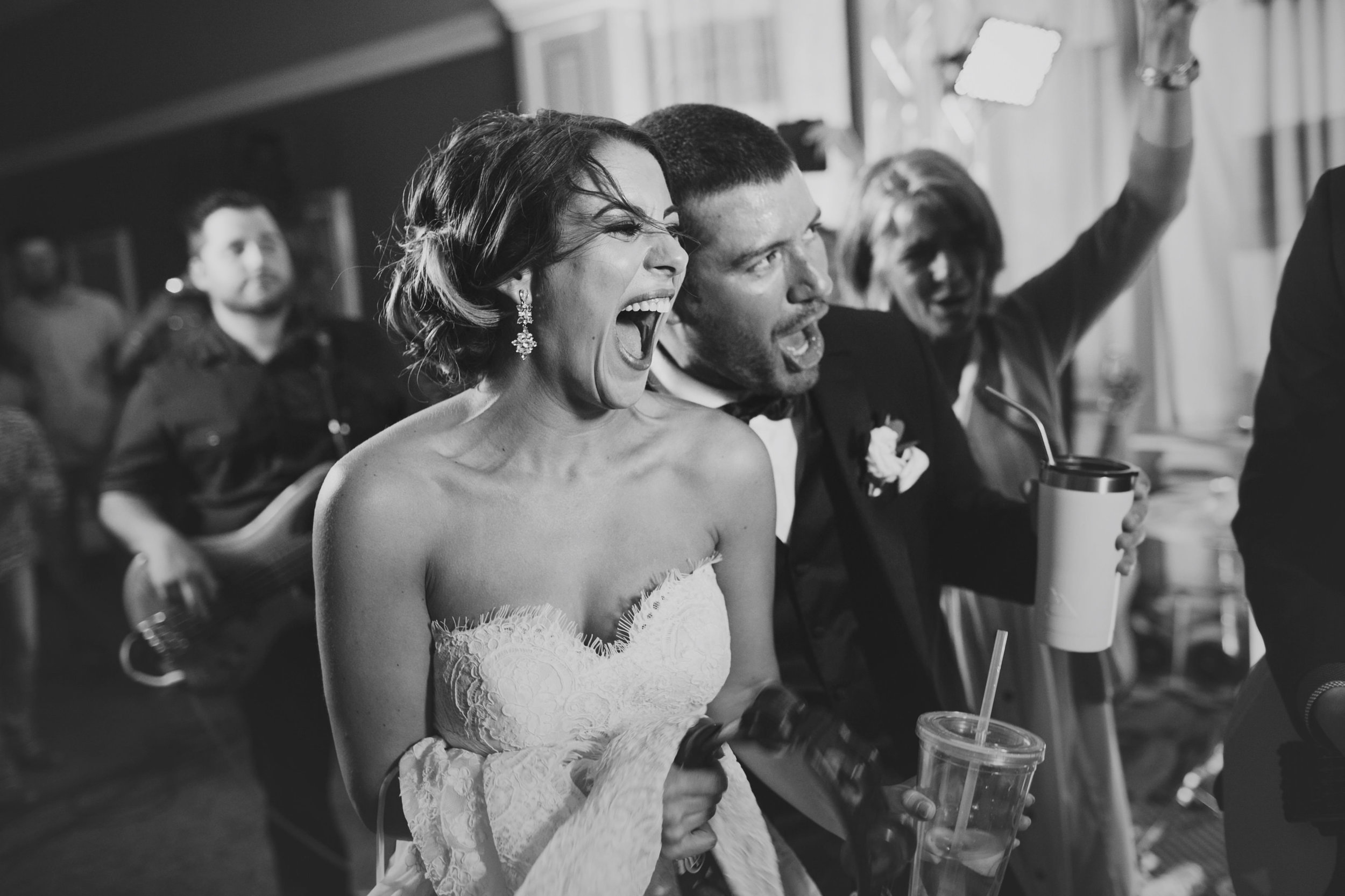 Southern Fete, Southern Wedding, Bride and Groom, Reception, Three37 Band, Kimbrali Photography