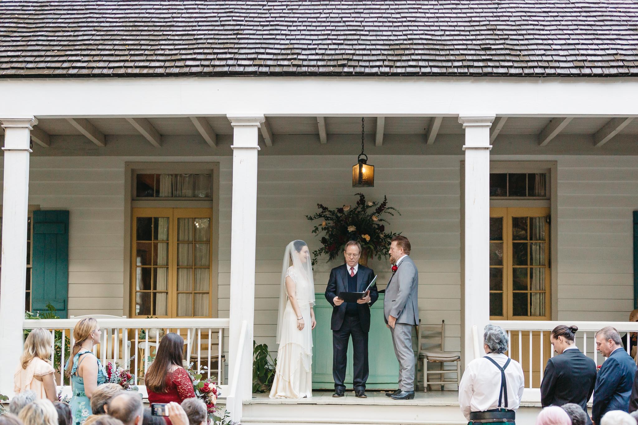 Southern Fete, Southern Wedding, Maison Madeleine, Mark Aycock Photography, Wedding Ceremony