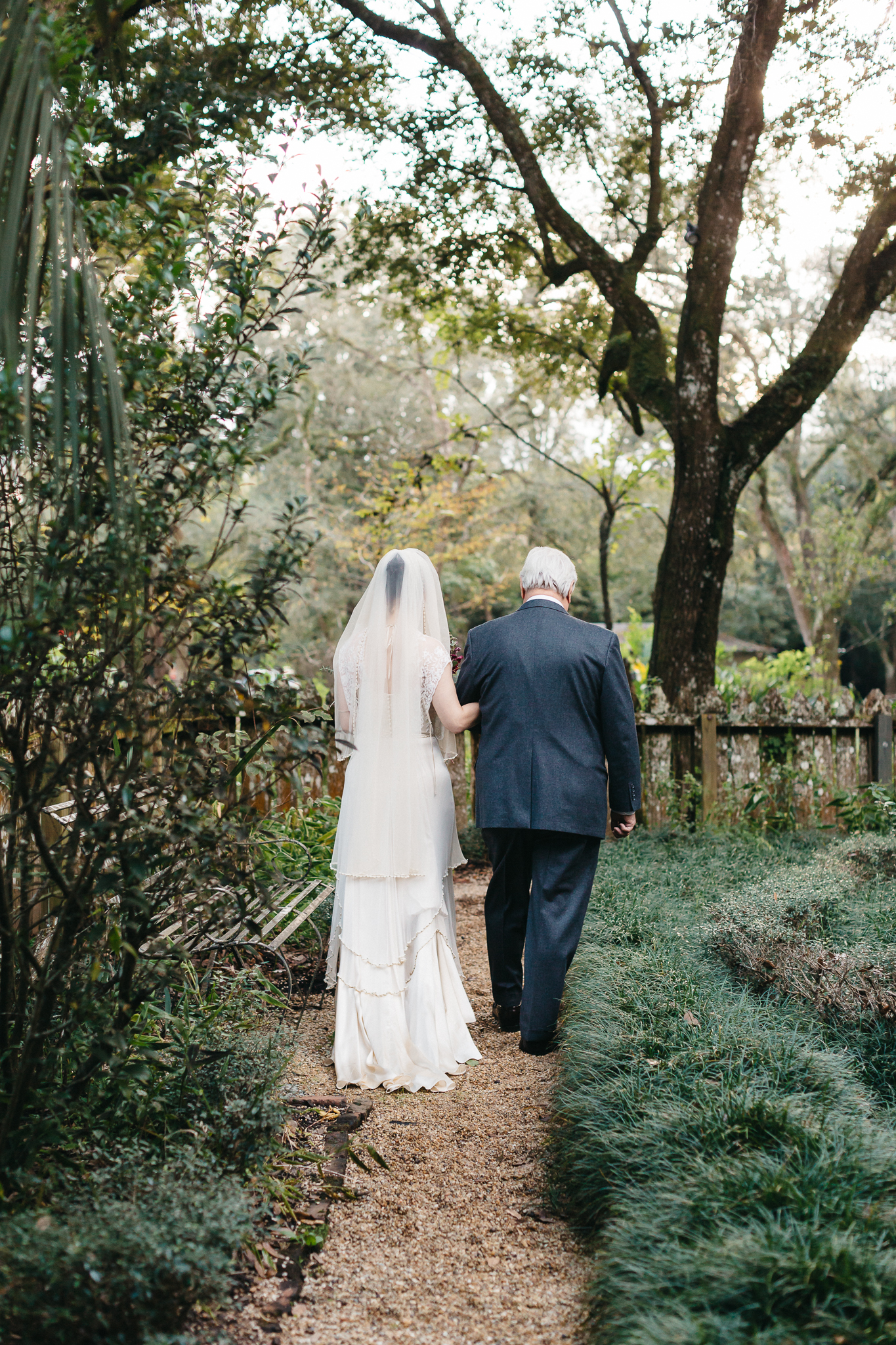 Southern Fete, Southern Wedding, Bride and her Father, Maison Madeleine, Mark Aycock Photography