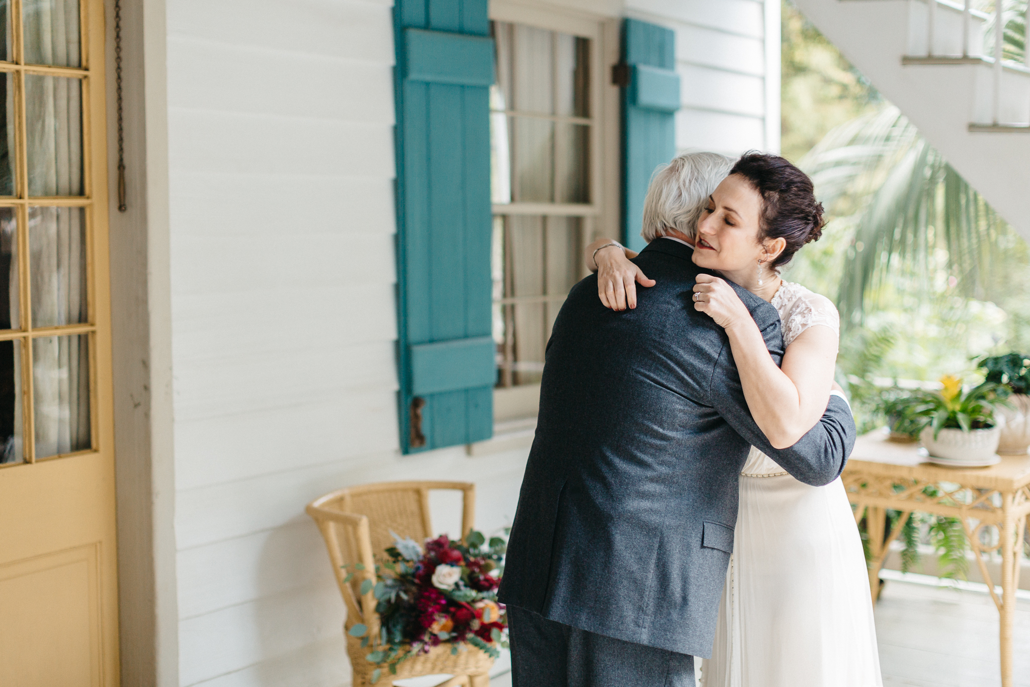 Southern Fete, Southern Wedding, Maison Madeleine, Bride and her Father, Mark Aycock Photography
