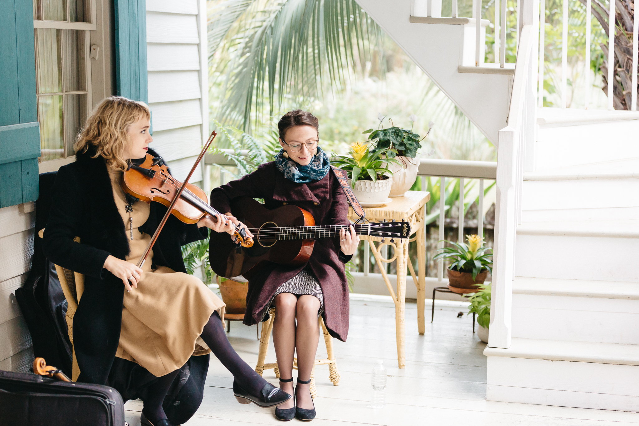 Southern Fete, Southern Wedding, Maison Madeleine, Mark Aycock Photography, Guitar and Violinist