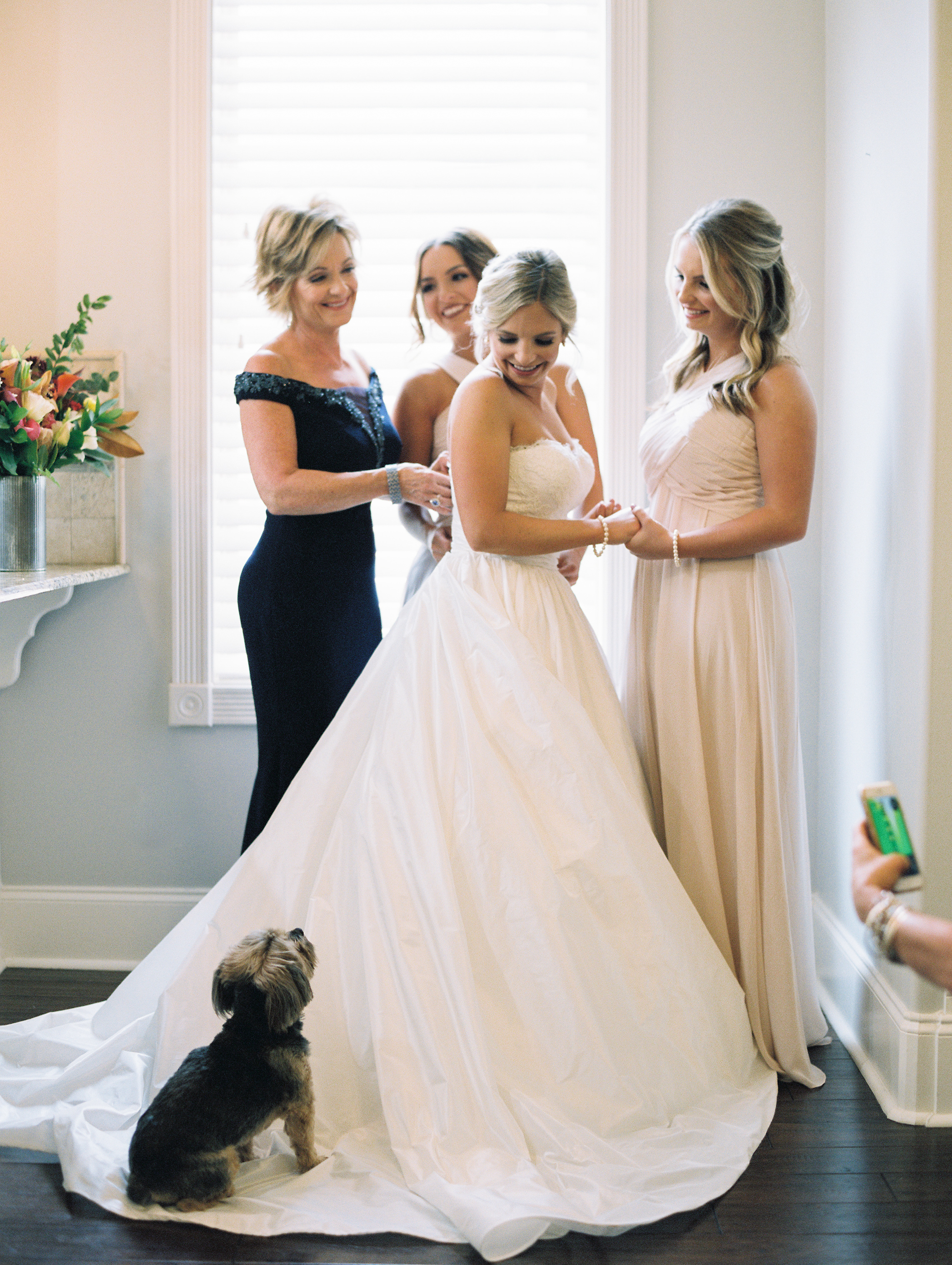 Southern Fete, Southern Wedding, Bride, Mother of the Bride, Maid of Honor, Sarah Beth Photography