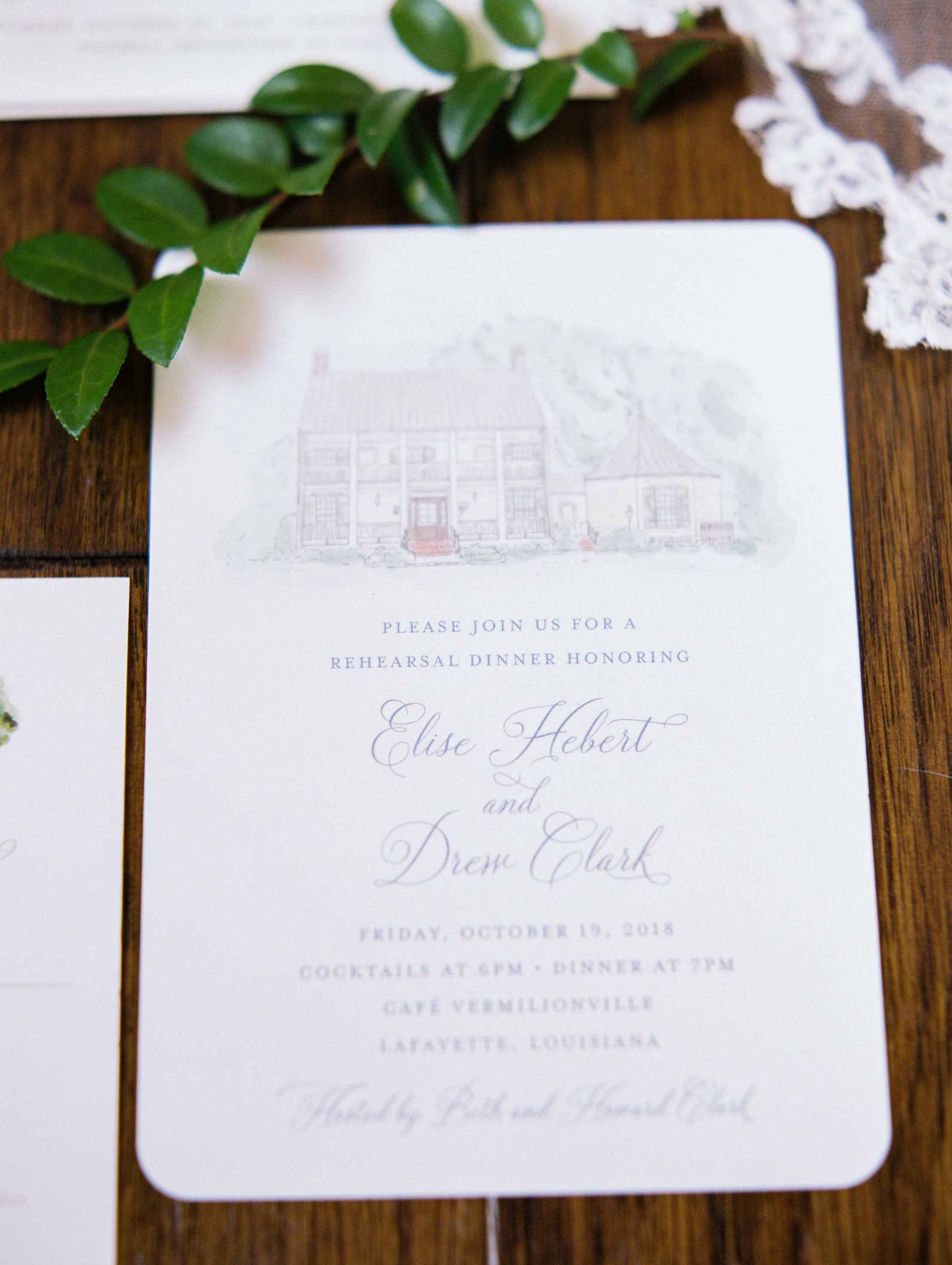 Southern Fete, Southern Wedding, Save the dates, Party Central, Hark Creative Co.