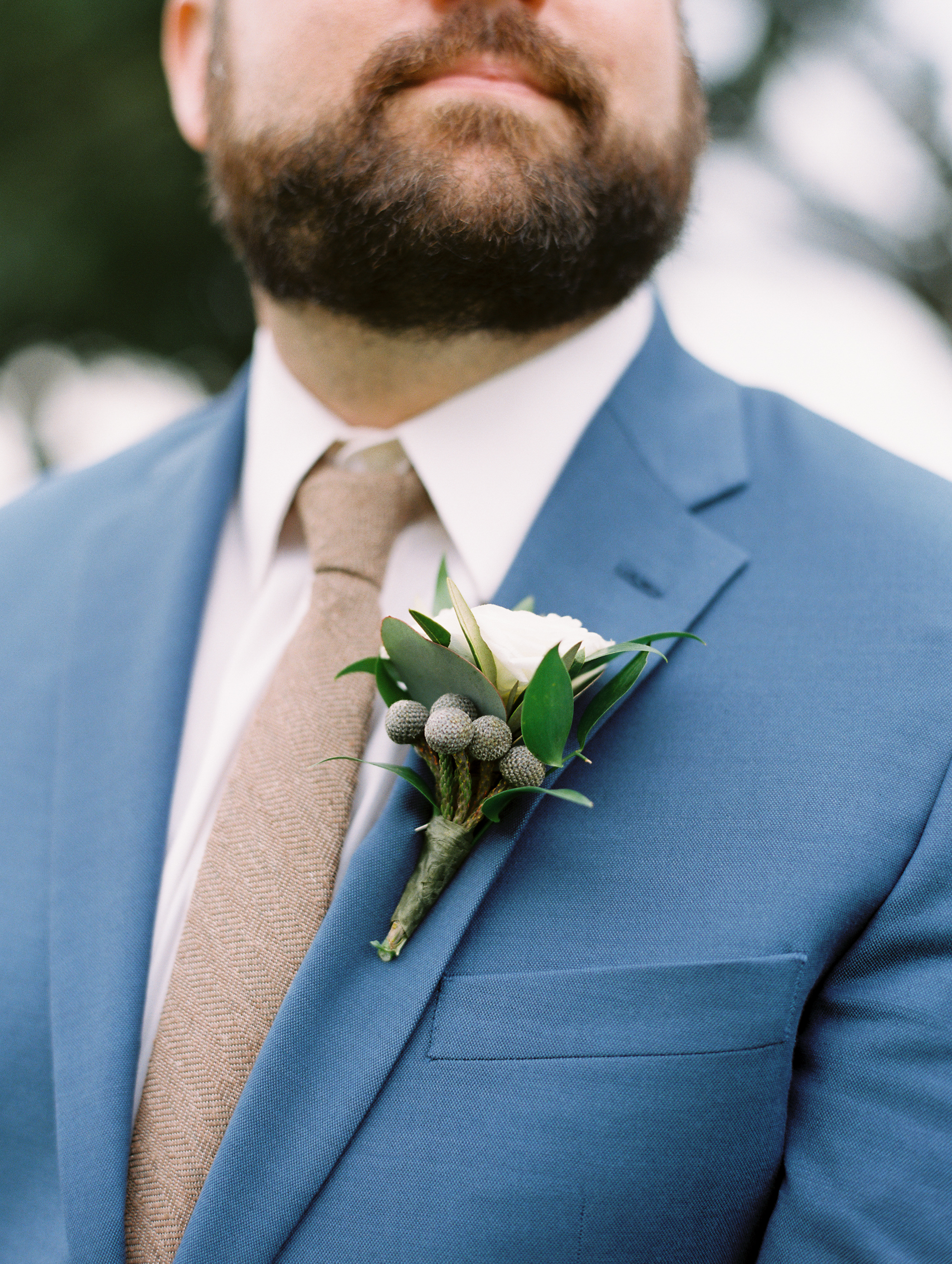 Southern Fete, Southern Wedding, Groom's Boutonniere, Flowers by Rodney