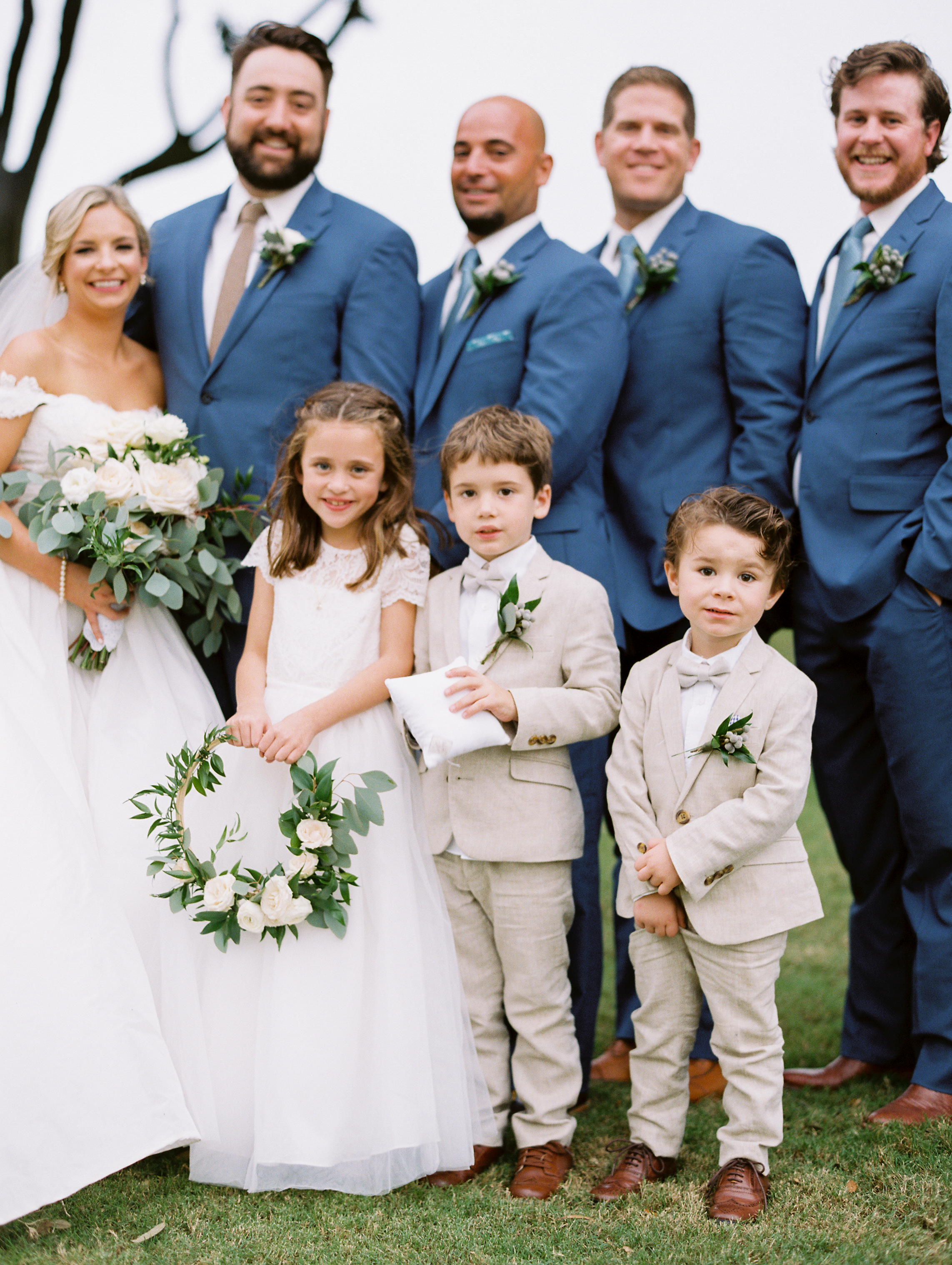 Southern Fete, Southern Wedding, Bridal Party, Sarah Beth Photography