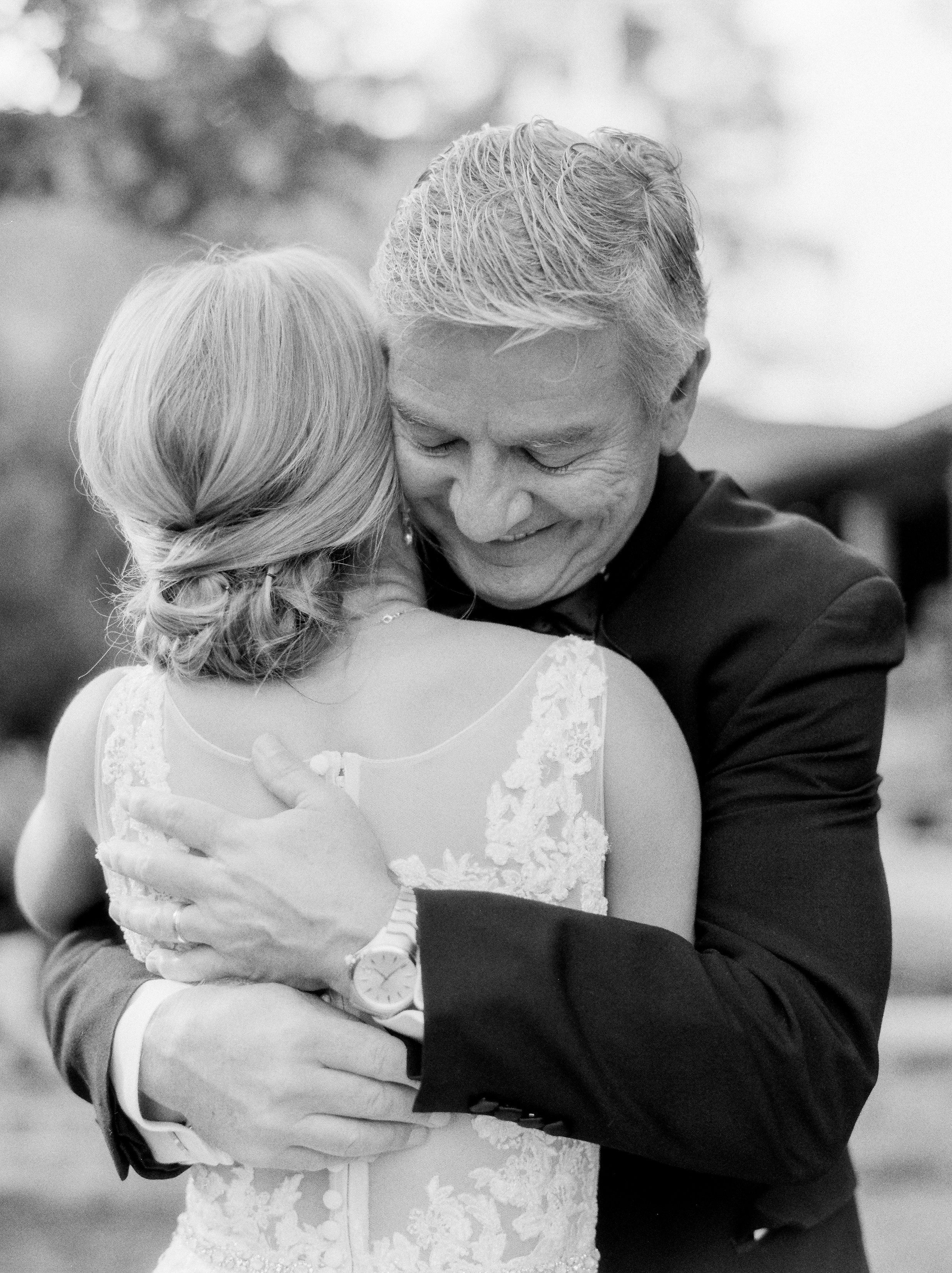 Southern Fete, Southern Wedding, Bride and her Father, Sarah Beth Photography