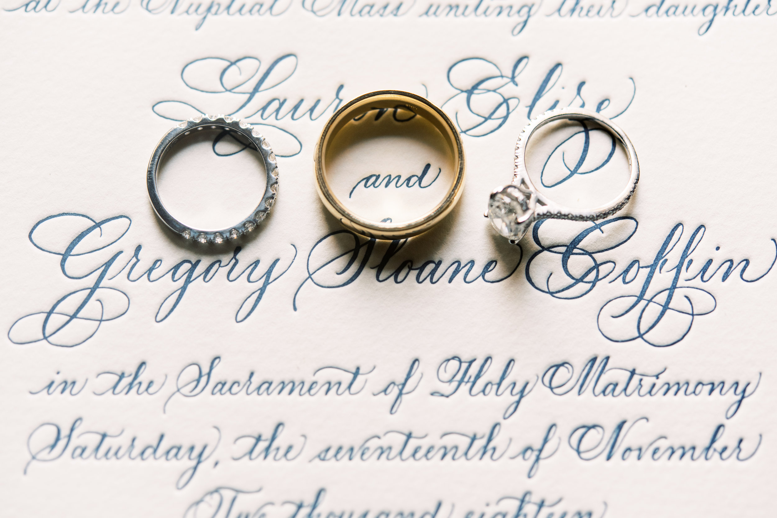 Southern Fete, Southern Wedding, Wedding rings, Sarah Beth Photography