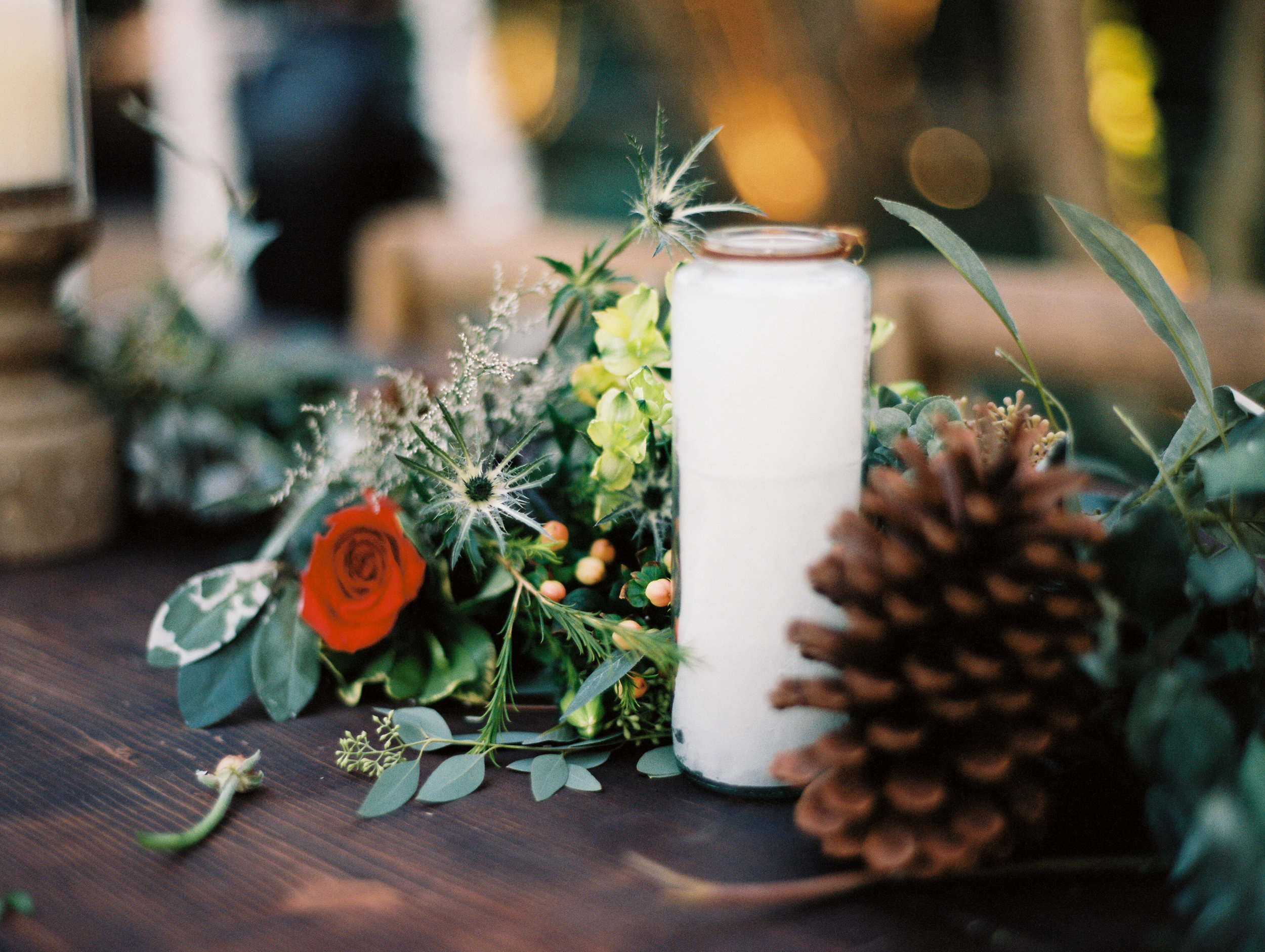 Southern Fete, Southern Wedding, Candle Decor, Peregrin's Florist